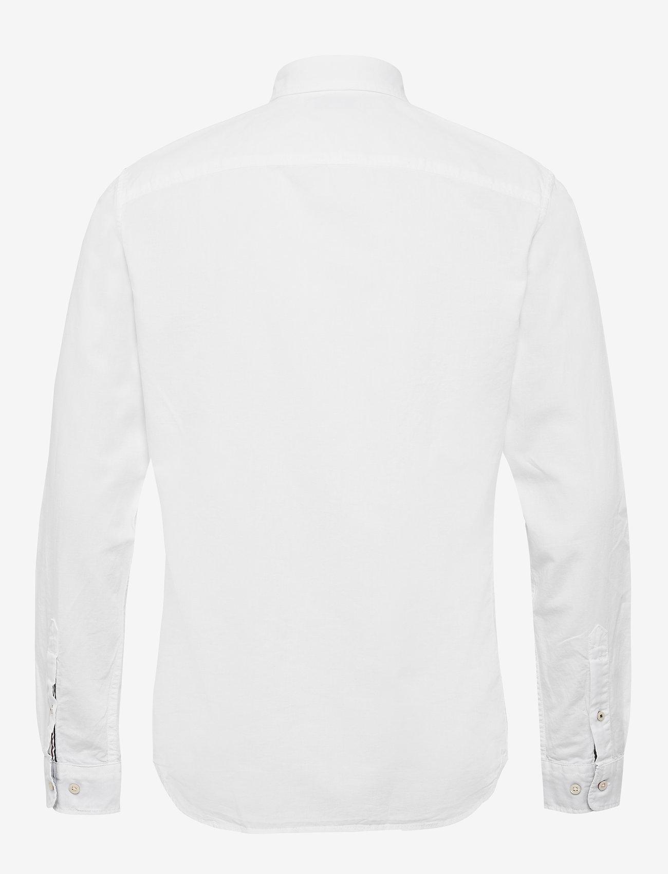 Jack & Jones - JJESUMMER SHIRT L/S S21 STS - basic skjortor - white - 1