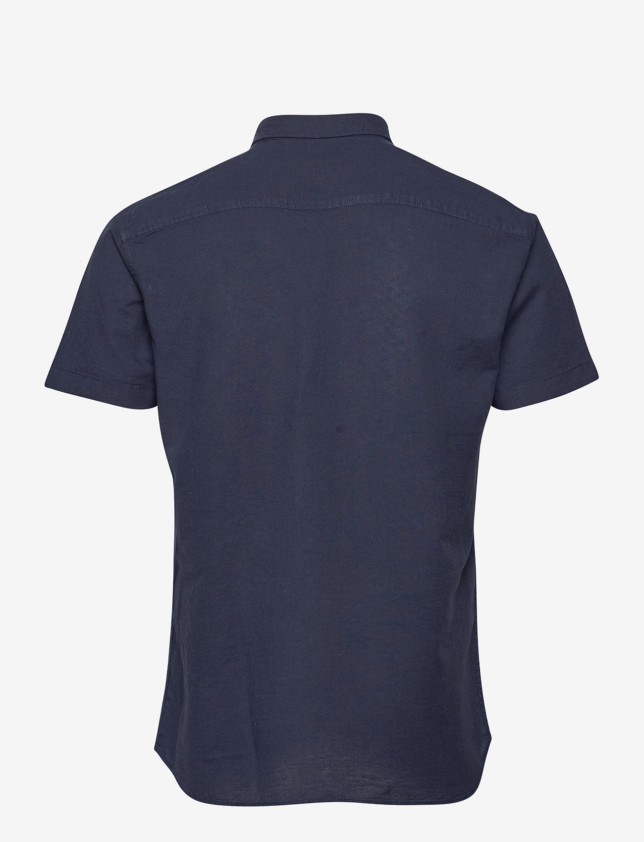 Jack & Jones - JJESUMMER SHIRT S/S S21 STS - basic skjorter - navy blazer - 1