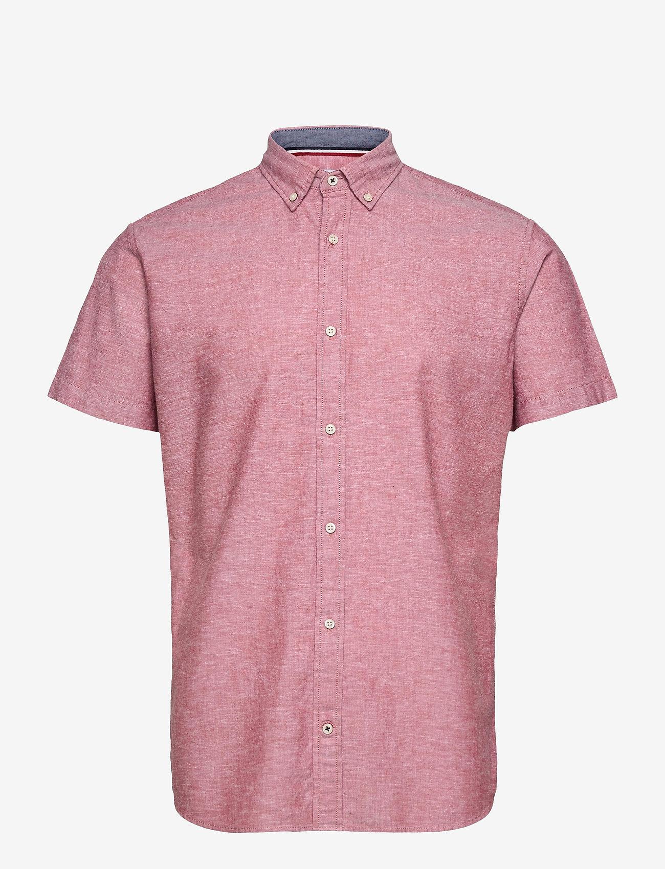 Jack & Jones - JJESUMMER SHIRT S/S S21 STS - basic skjortor - rio red - 0