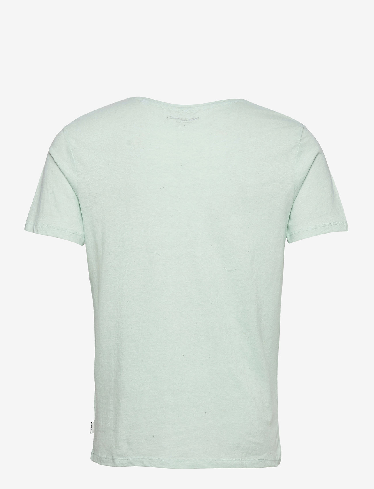 Jack & Jones - JJELINEN BASIC TEE SS CREW NECK STS - basic t-shirts - bleached aqua - 1