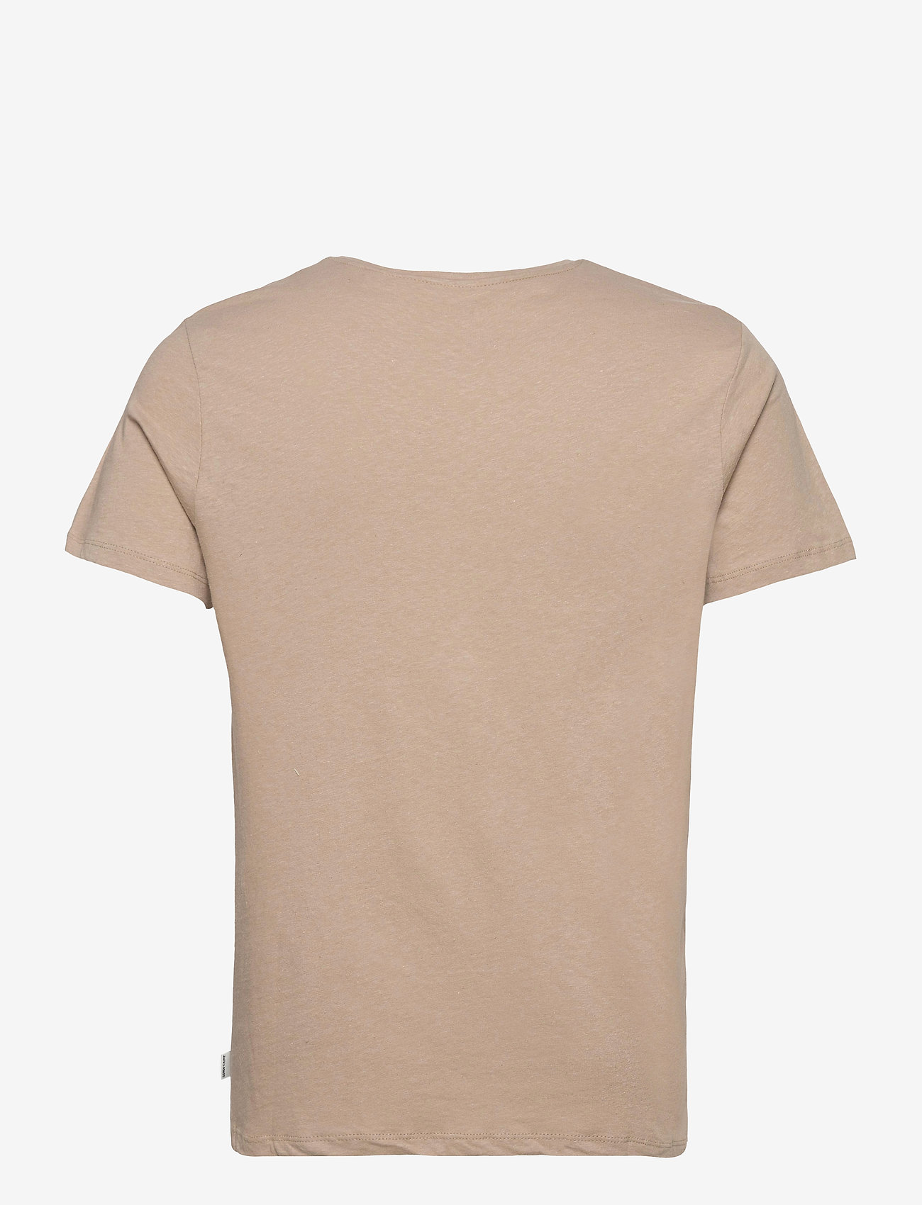 Jack & Jones - JJELINEN BASIC TEE SS CREW NECK STS - basic t-shirts - crockery - 1