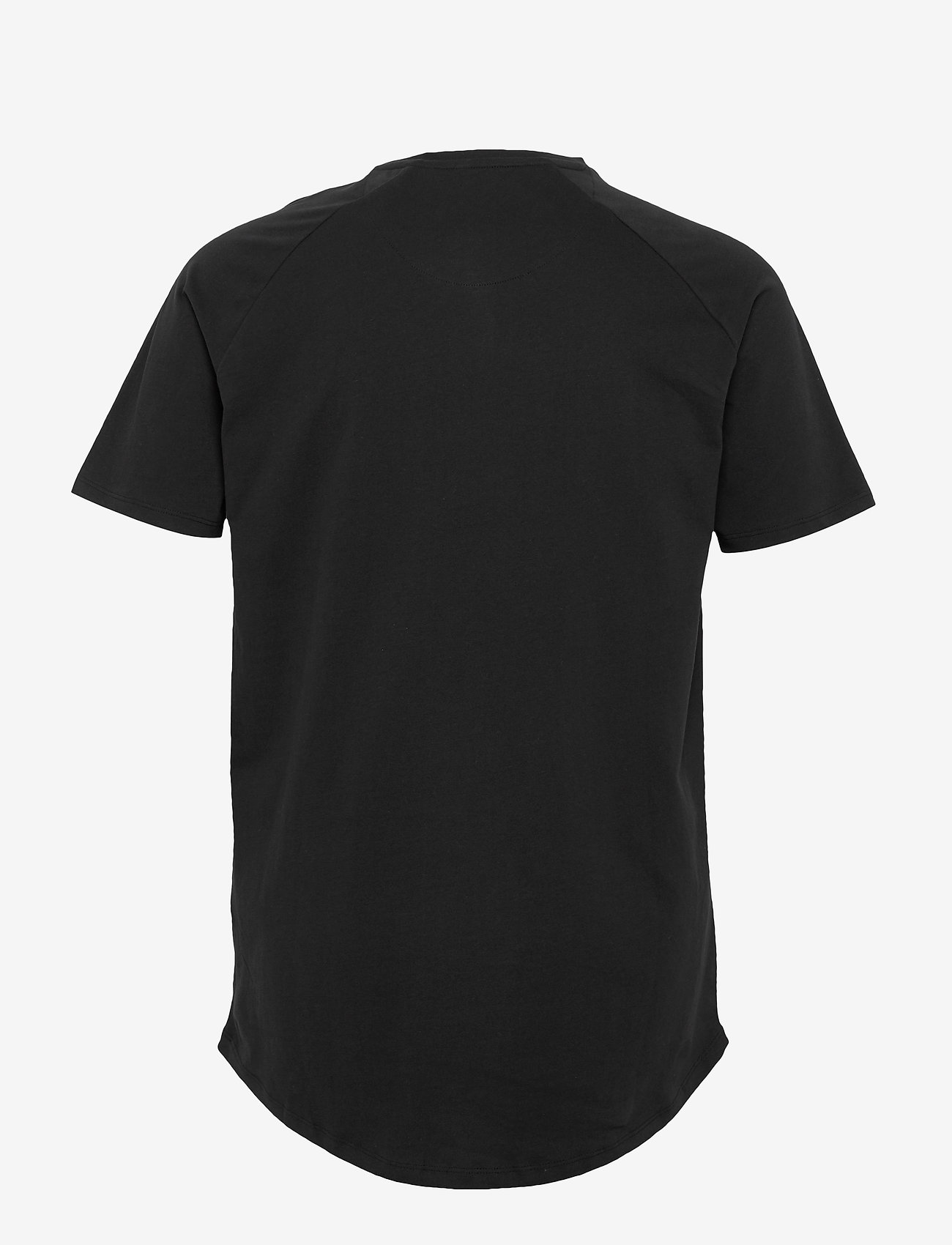 Jack & Jones - JJECURVED TEE SS O-NECK - basic t-shirts - black - 1