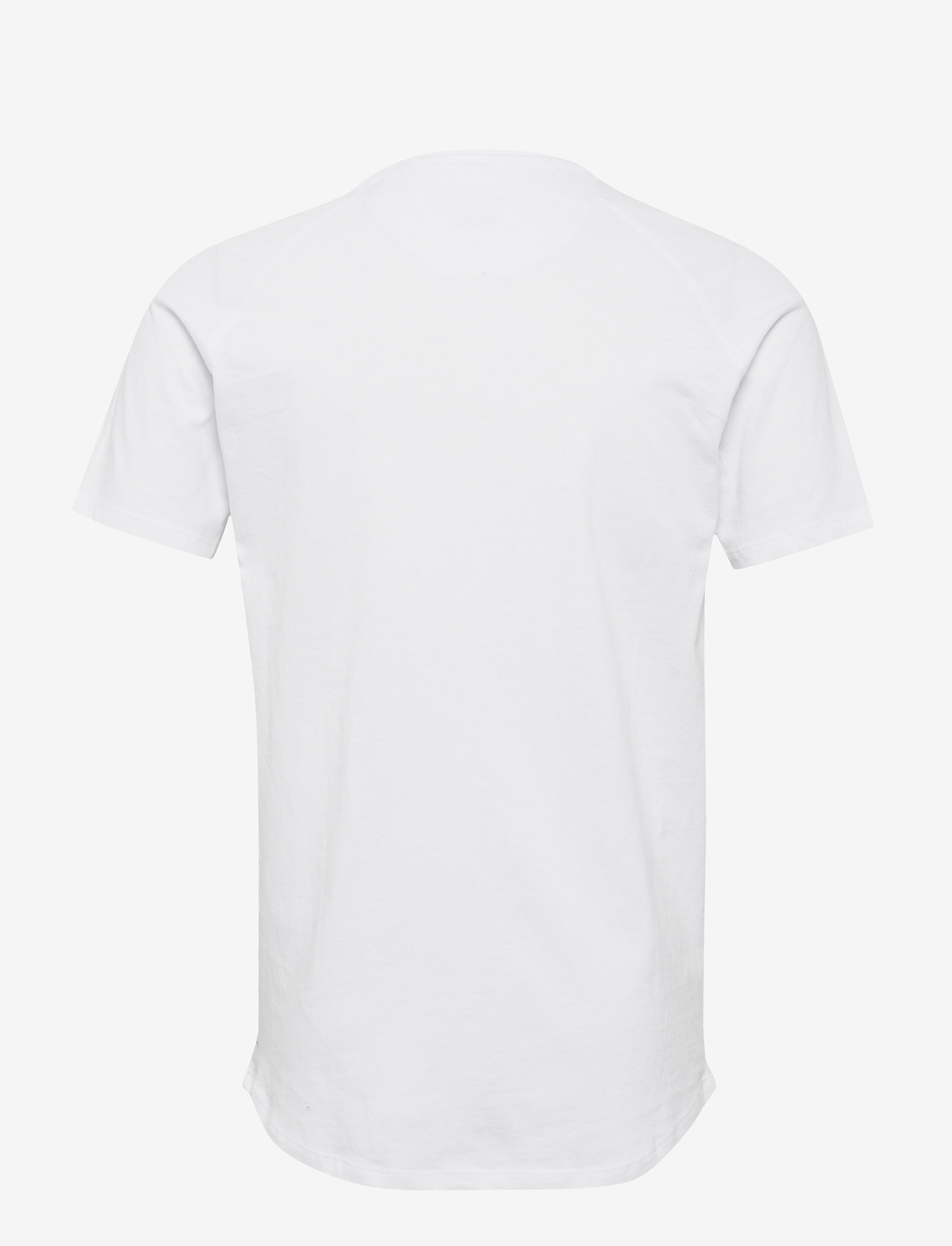 Jack & Jones - JJECURVED TEE SS O-NECK NOOS - t-shirts basiques - white - 1
