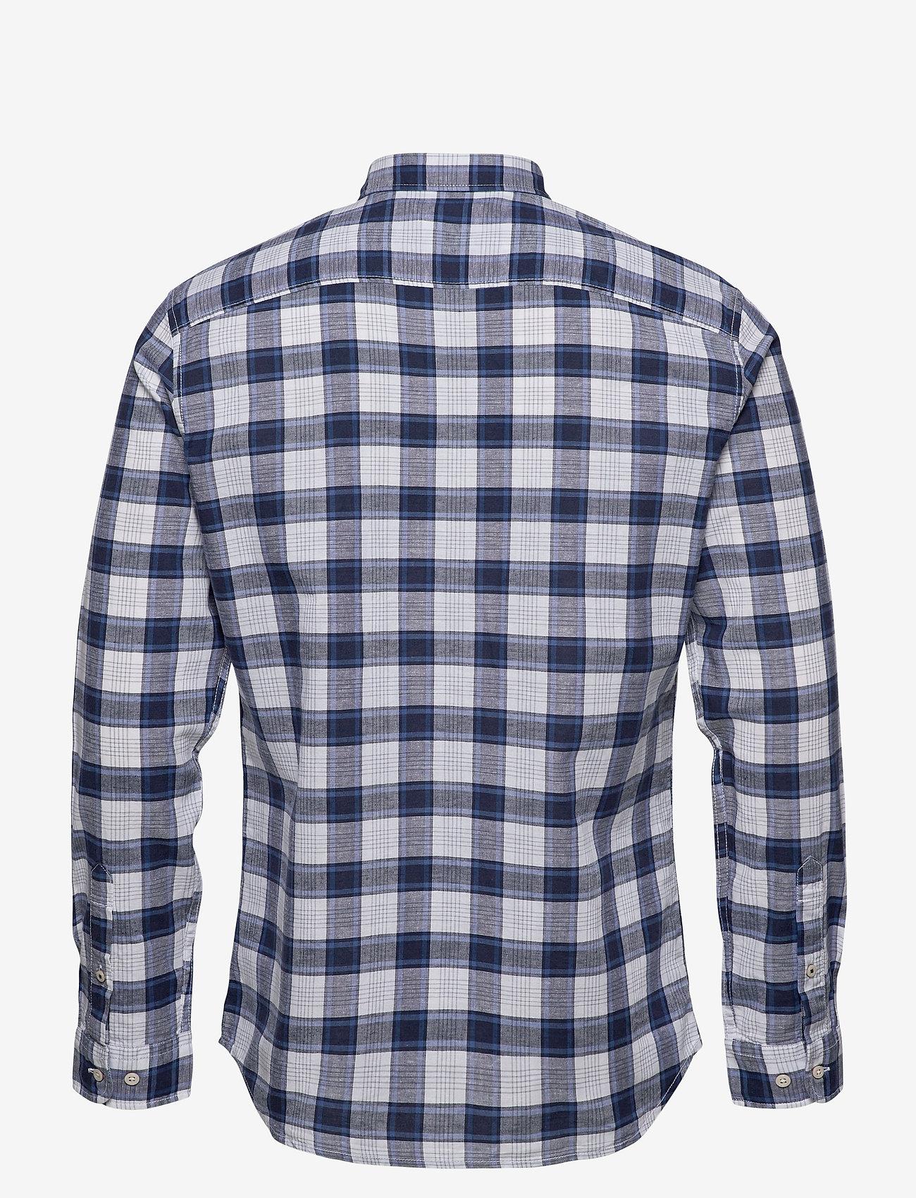 Jack & Jones - JJESUMMER MIX SHIRT L/S S20 STS - casual skjortor - white - 1