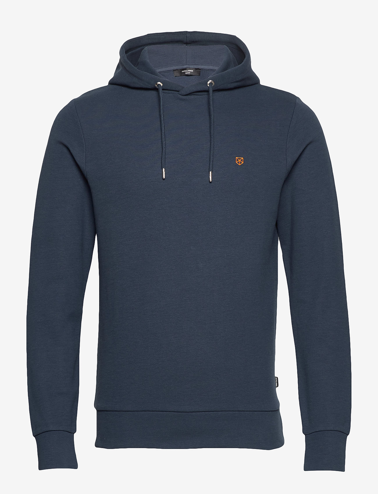 Jack & Jones - JPRBLAHARDY SWEAT HOOD PRE STS - basic sweatshirts - black iris - 0
