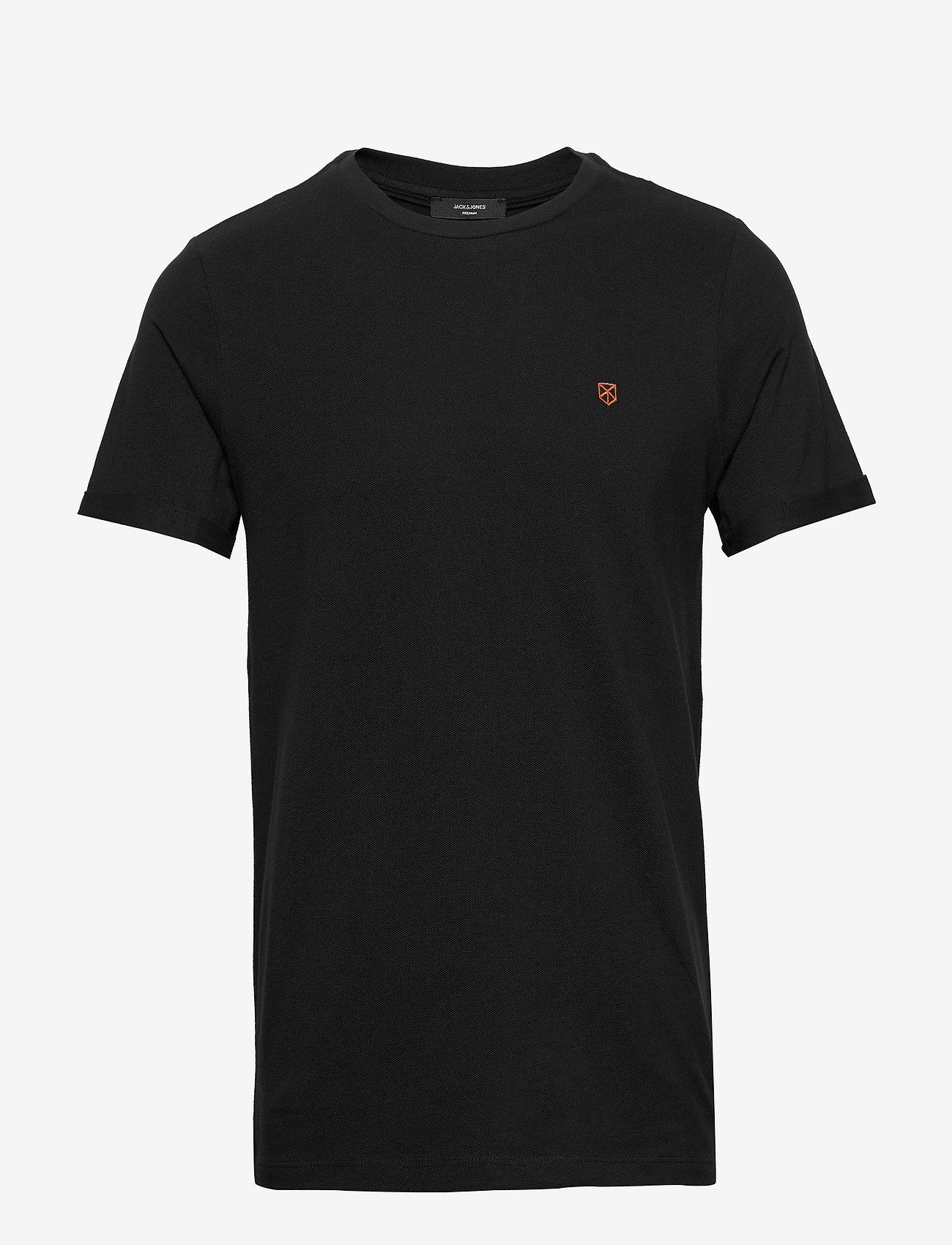 Jack & Jones - JPRBLAHARDY TEE SS CREW NECK STS - t-shirts basiques - black - 0