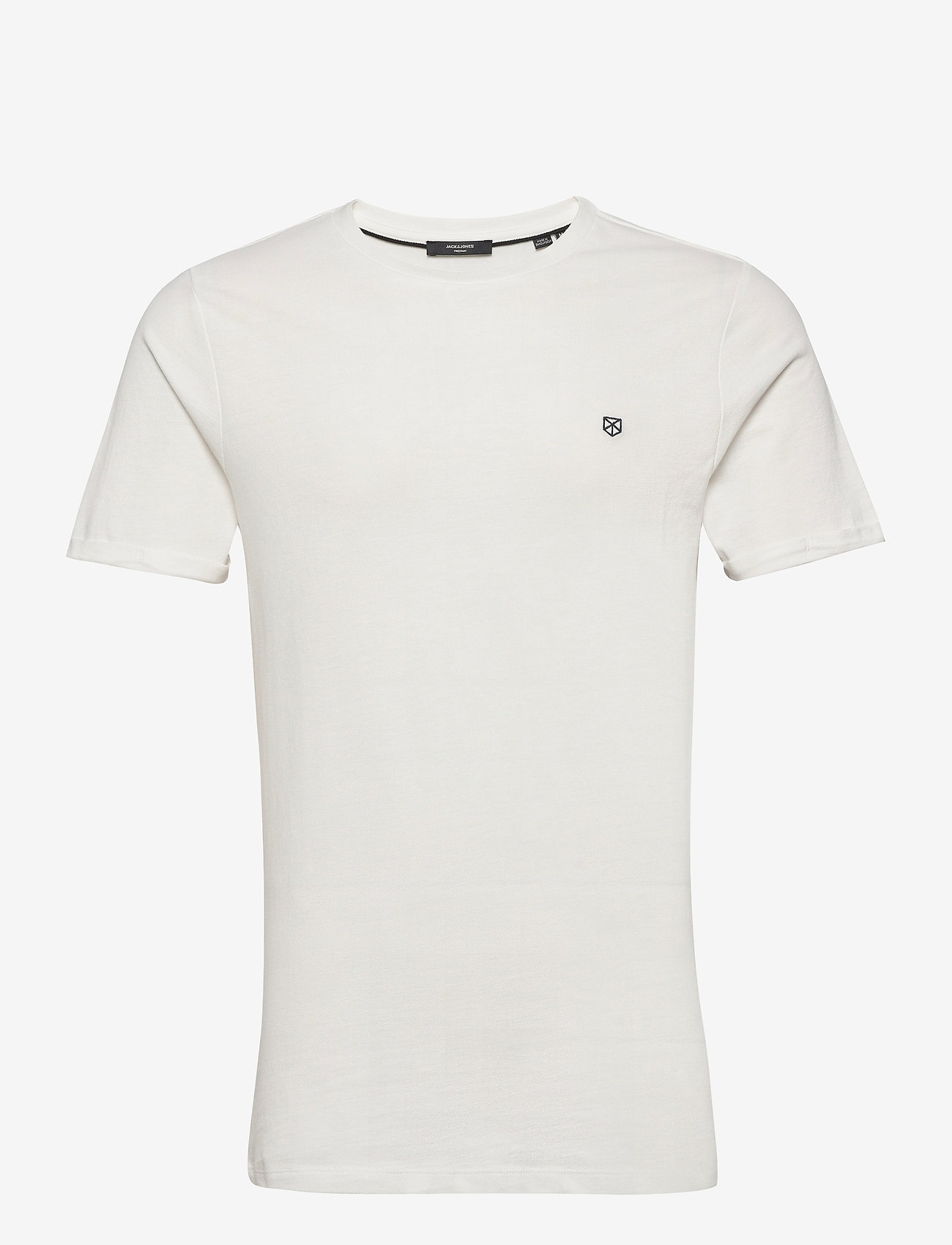 Jack & Jones - JPRBLAHARDY TEE SS CREW NECK STS - basic t-shirts - blanc de blanc - 0