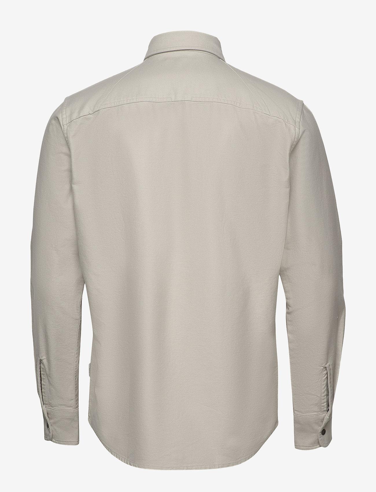 Jack & Jones - JCOPETER DENIM SHIRT LS WORKER - podstawowe koszulki - glacier gray - 1