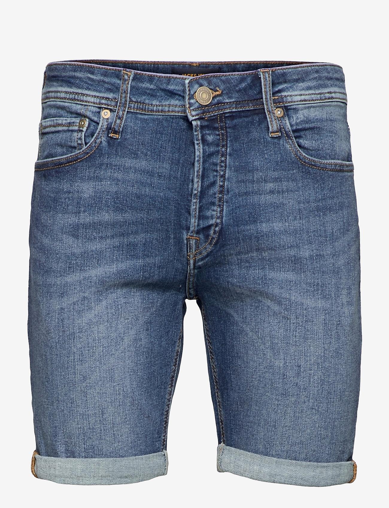 Jack & Jones - JJIRICK JJORIGINAL SHORTS AGI 005 - denim shorts - blue denim - 0
