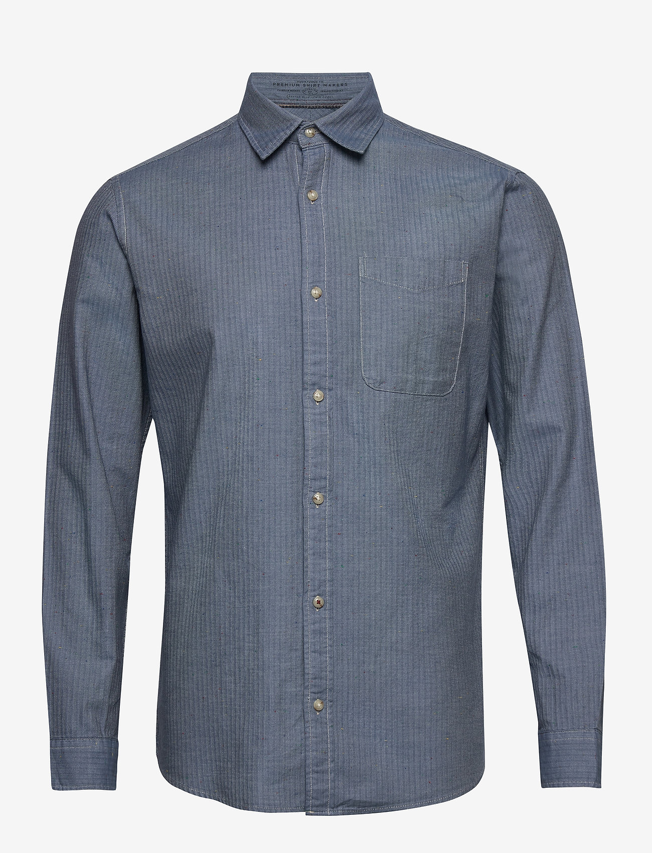 Jack & Jones - JPRBLUSEAN SHIRT L/S ONE POCKET - casual skjortor - bering sea - 0