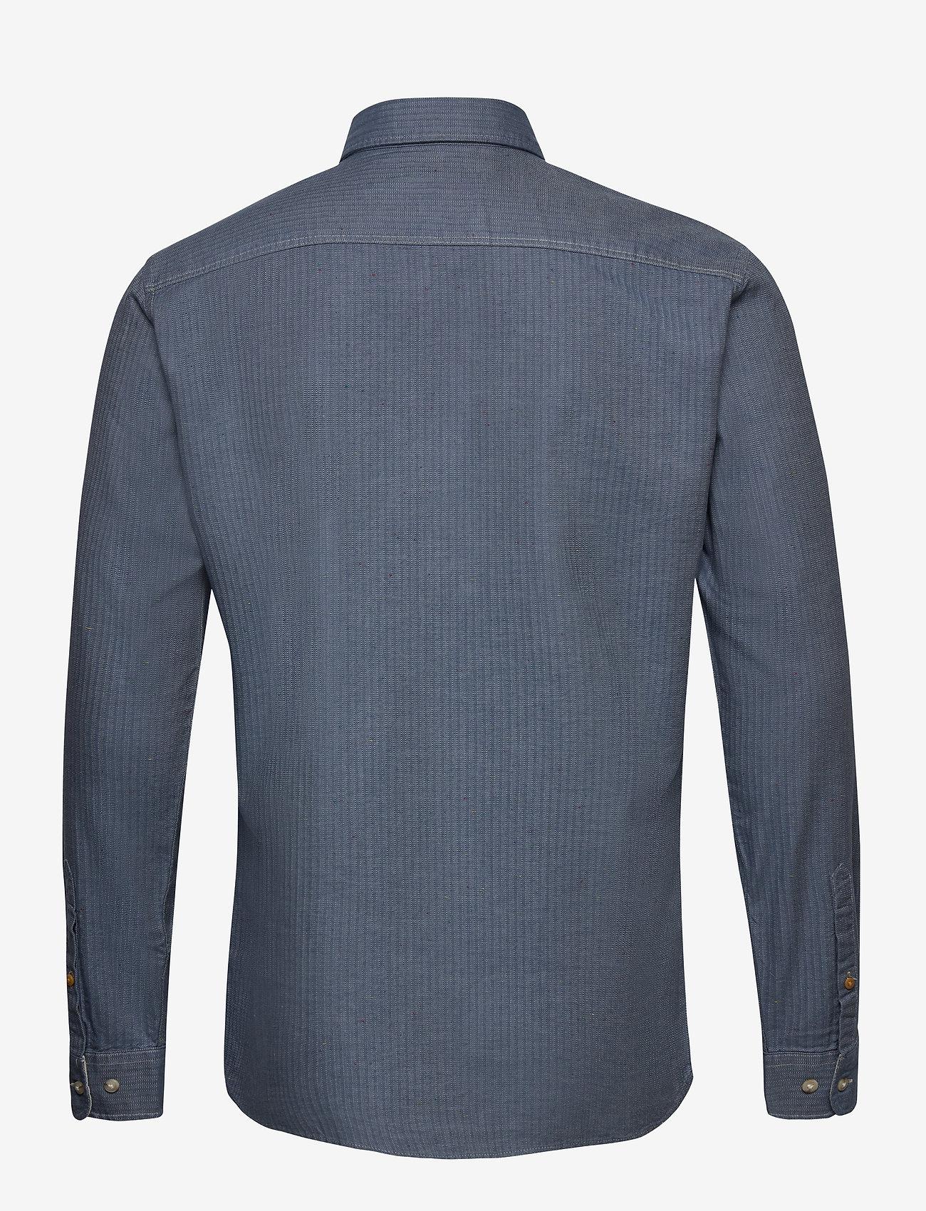 Jack & Jones - JPRBLUSEAN SHIRT L/S ONE POCKET - casual skjortor - bering sea - 1