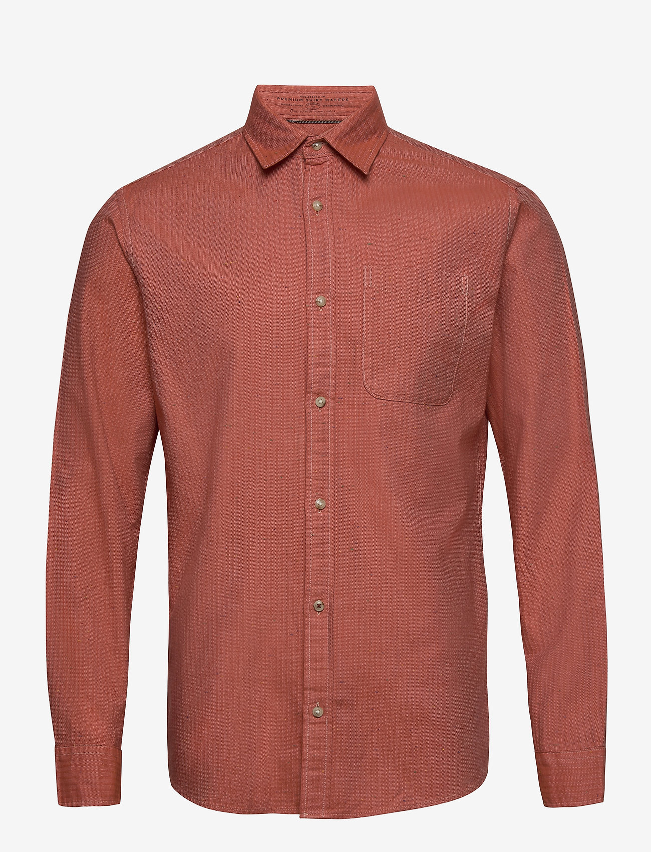 Jack & Jones - JPRBLUSEAN SHIRT L/S ONE POCKET - casual skjortor - red dahlia - 0