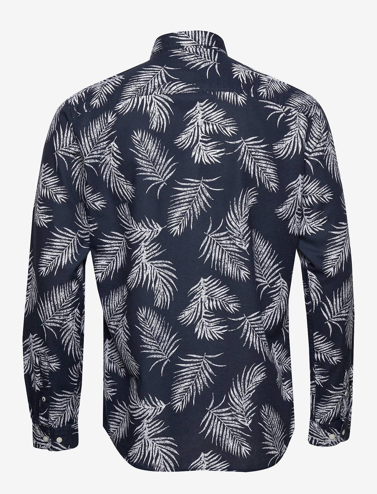 Jack & Jones - JPRBLASUMMER LEAF SHIRT L/S S20 - casual skjortor - navy blazer - 1