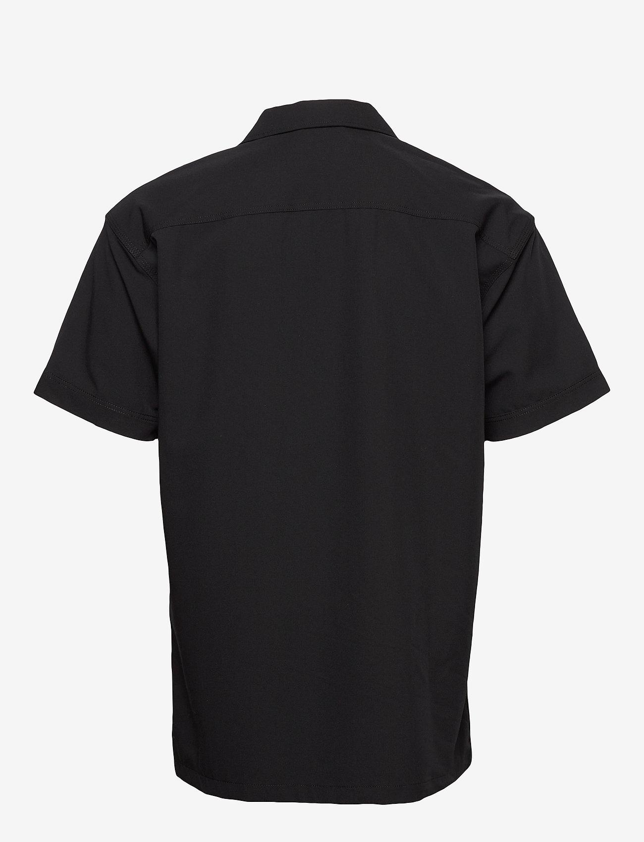 Jack & Jones - JCOMONO SHIRT SS WORKER - basic skjorter - black - 1