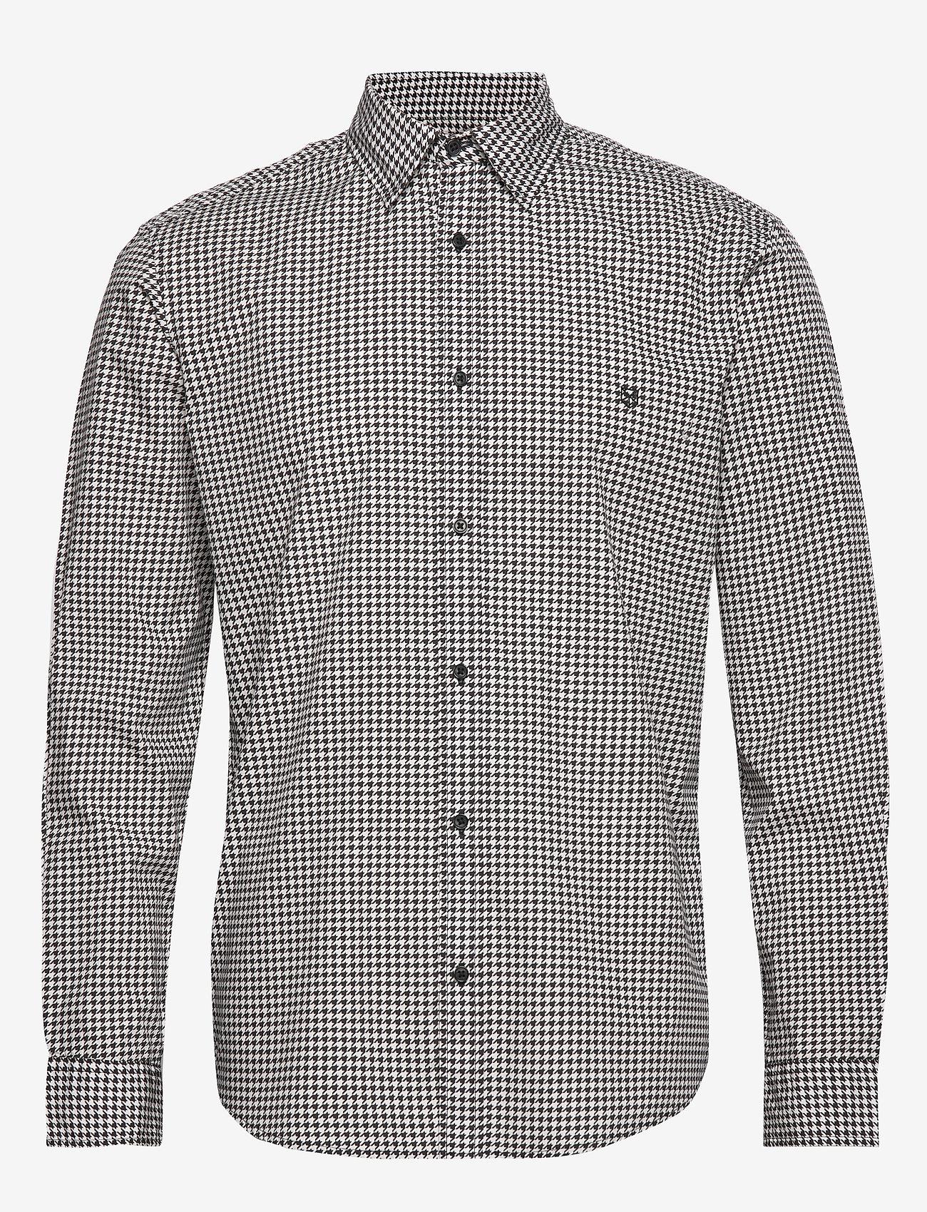Jack & Jones - JPRLANDON LS SHIRT TC319 - casual skjortor - blanc de blanc - 0