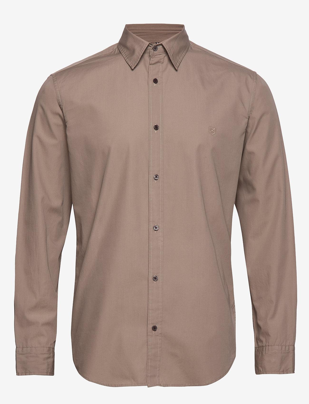 Jack & Jones - JPRLANDON LS SHIRT TC319 - casual skjortor - greige - 0
