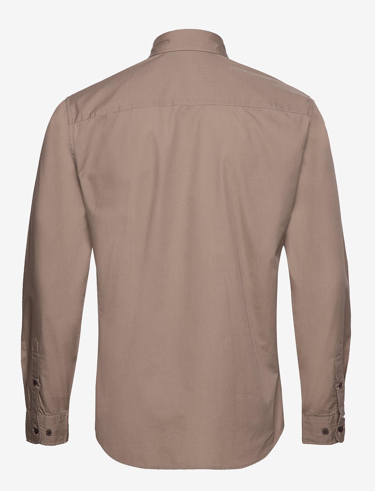Jack & Jones - JPRLANDON LS SHIRT TC319 - casual skjortor - greige - 1