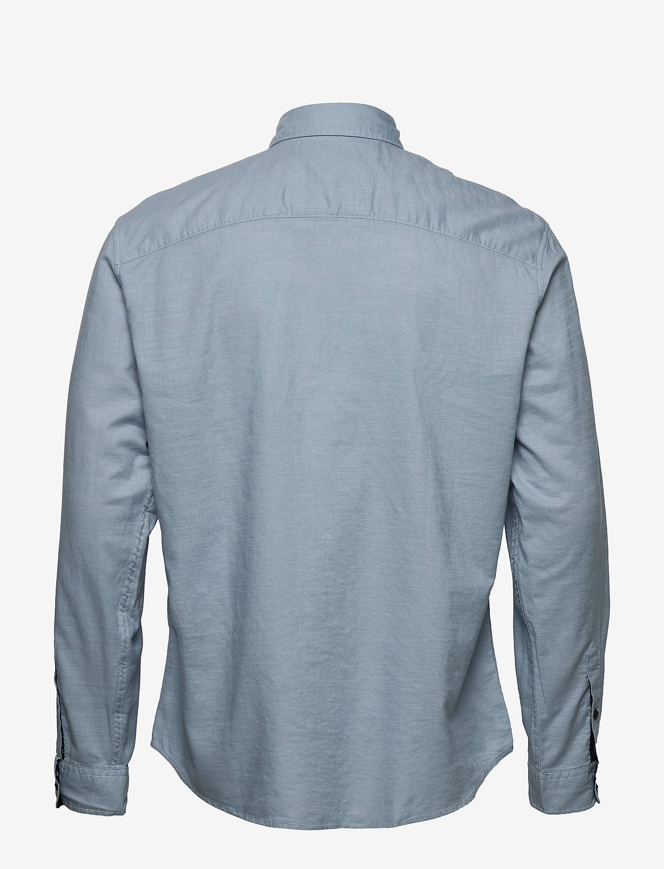 Jack & Jones - JORCHANDLER SHIRT LS - basic skjortor - ashley blue - 1