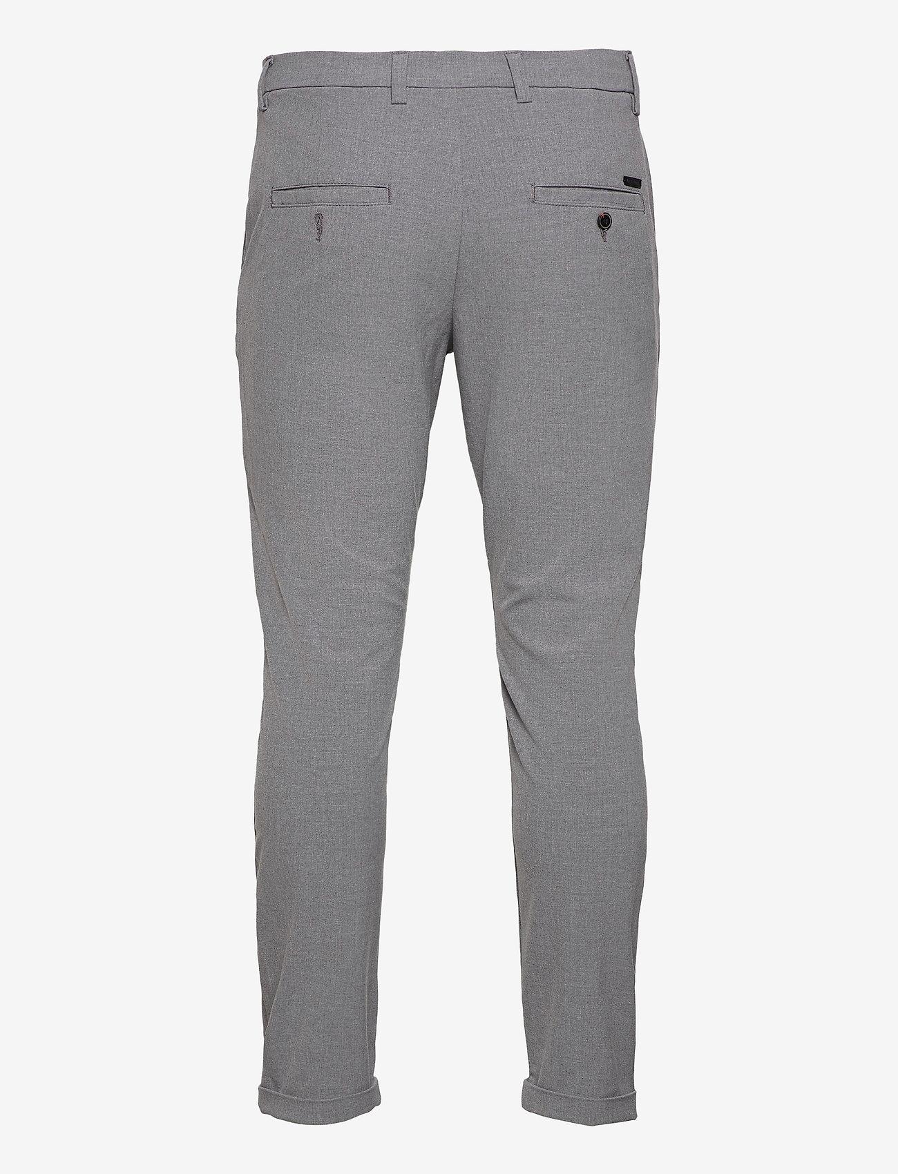 Jack & Jones - JJIMARCO JJCONNOR AKM 909 GREY MEL NOOS - pantalons habillés - grey melange - 1