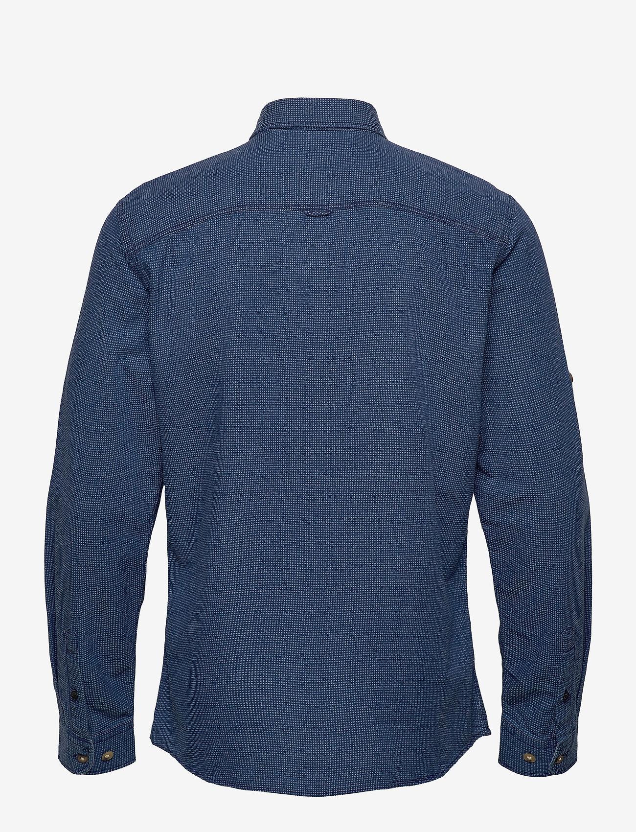 Jack & Jones - JPRBLUEASTON SHIRT L/S ONE POCKET - casual skjortor - denim blue - 1
