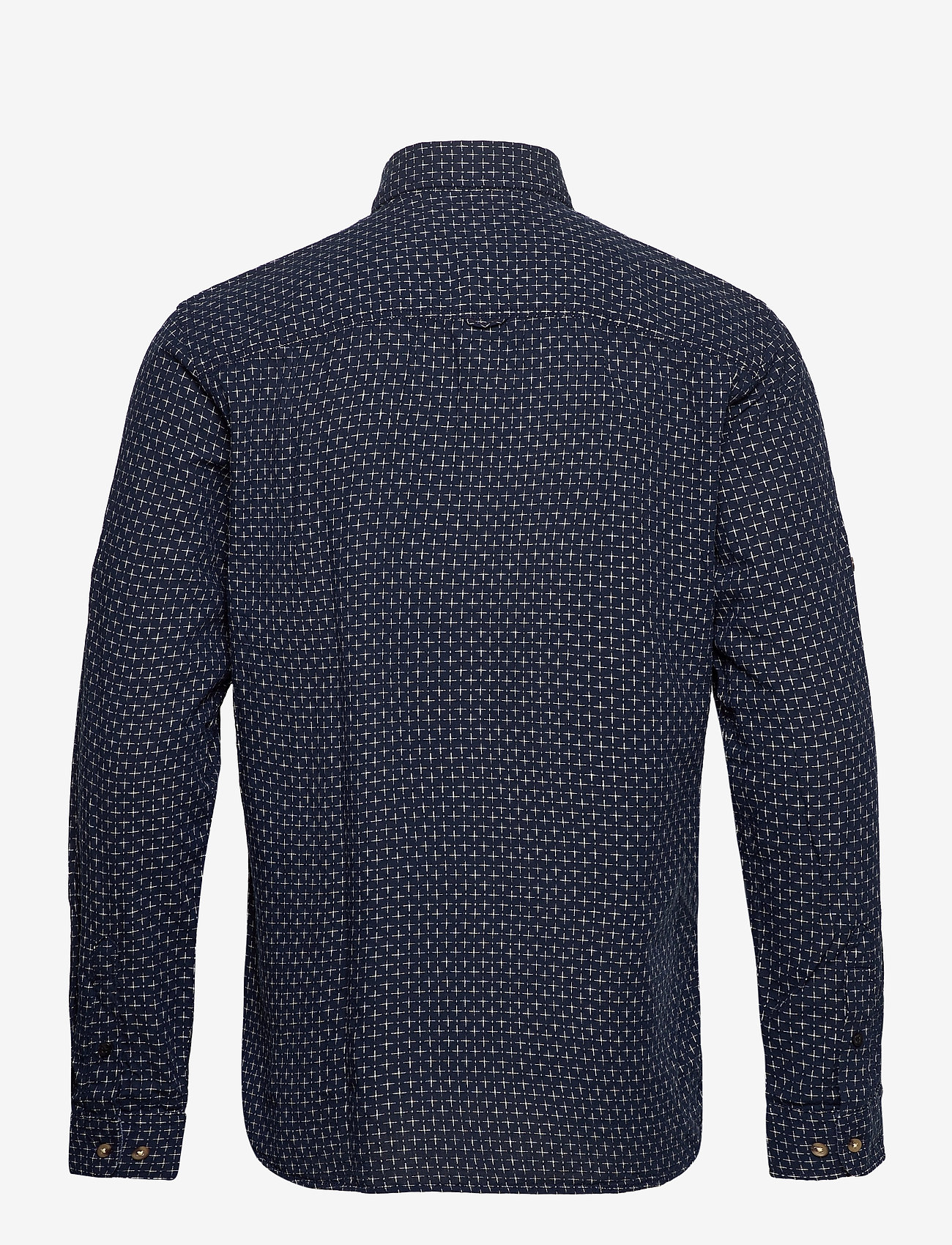 Jack & Jones - JPRBLUEASTON SHIRT L/S ONE POCKET - casual skjortor - navy blazer - 1