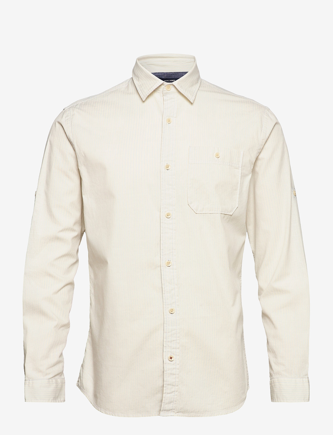 Jack & Jones - JPRBLUEASTON SHIRT L/S ONE POCKET - casual skjortor - whisper white - 0