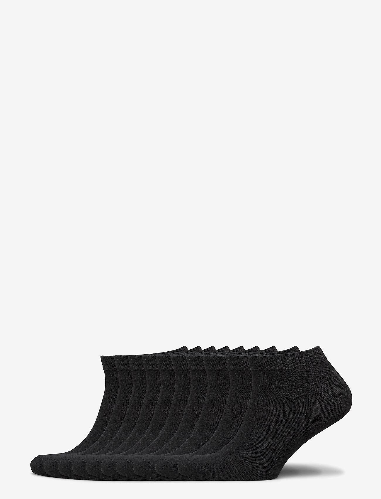 Jack & Jones - JACDONGO SOCKS 10 PACK NOOS - skarpety za kostkę - black - 0