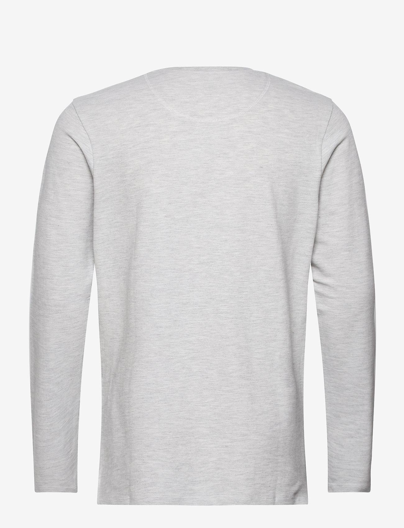 Jack & Jones JJEJEANS HENLEY L/S NOOS - T-skjorter ECRU - Menn Klær