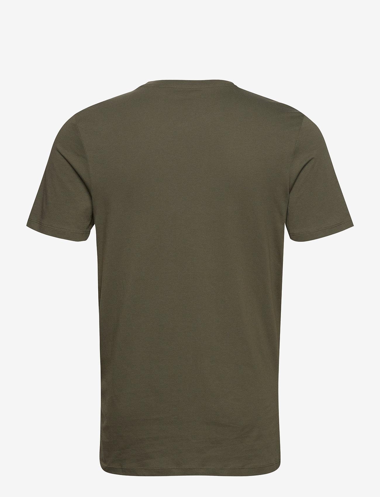 Jack & Jones - JJELOGO TEE SS O-NECK 2 COL AW20 - kortärmade t-shirts - forest night - 1