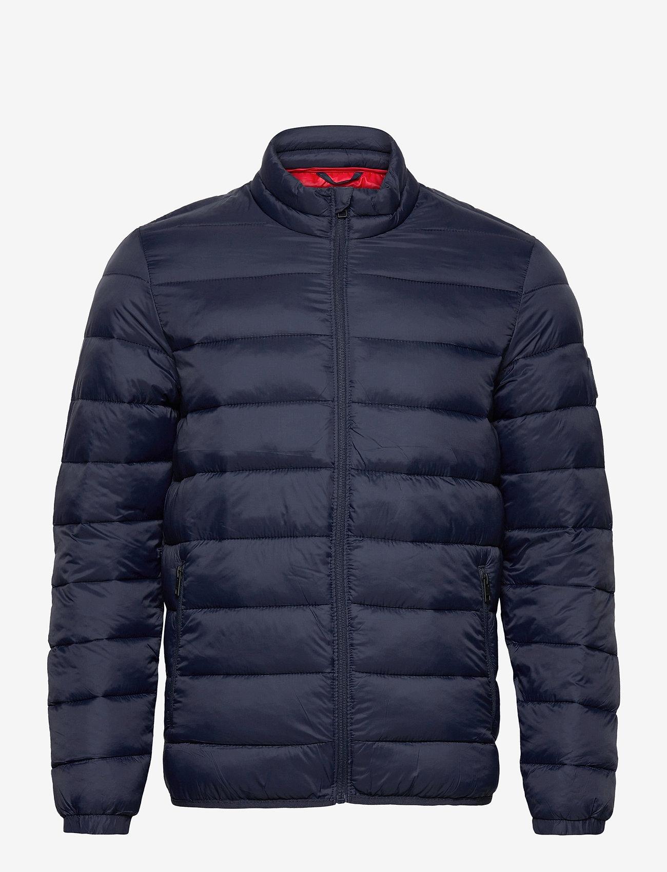 Jack & Jones - JJEMAGIC PUFFER COLLAR NOOS - vestes matelassées - navy blazer - 1