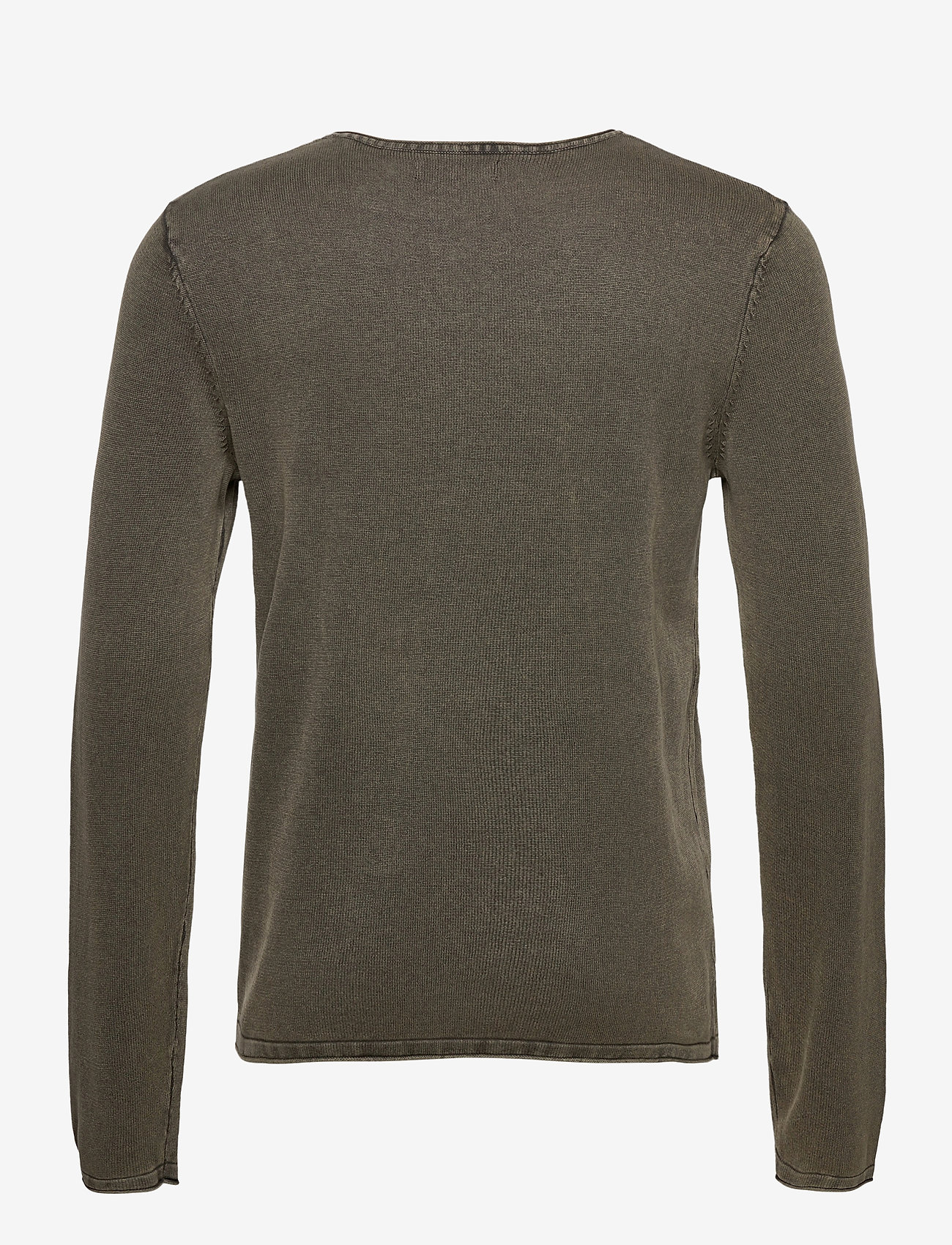 Jack & Jones - JJELEO KNIT CREW NECK NOOS - tricots basiques - dusty olive - 1