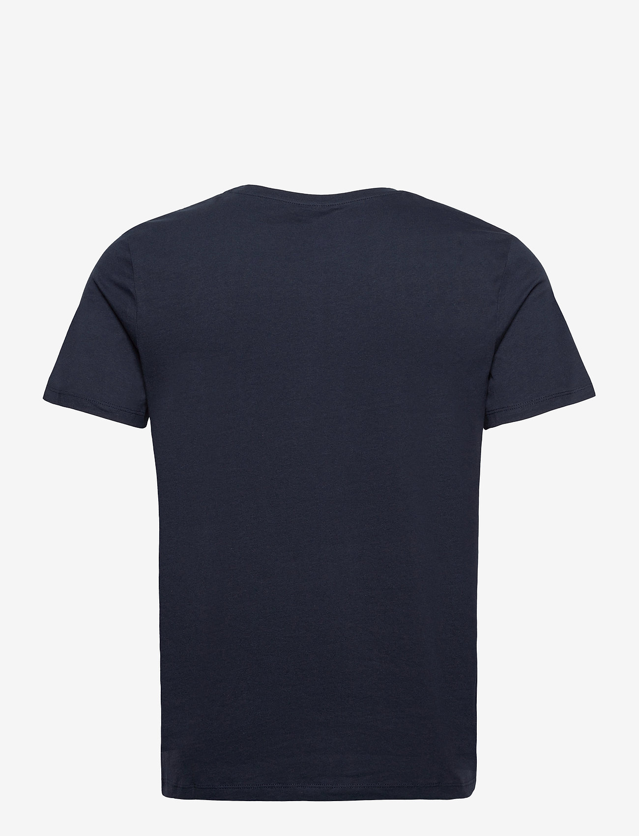 Jack & Jones - JORNATURE TEE SS CREW NECK - kortärmade t-shirts - navy blazer - 1