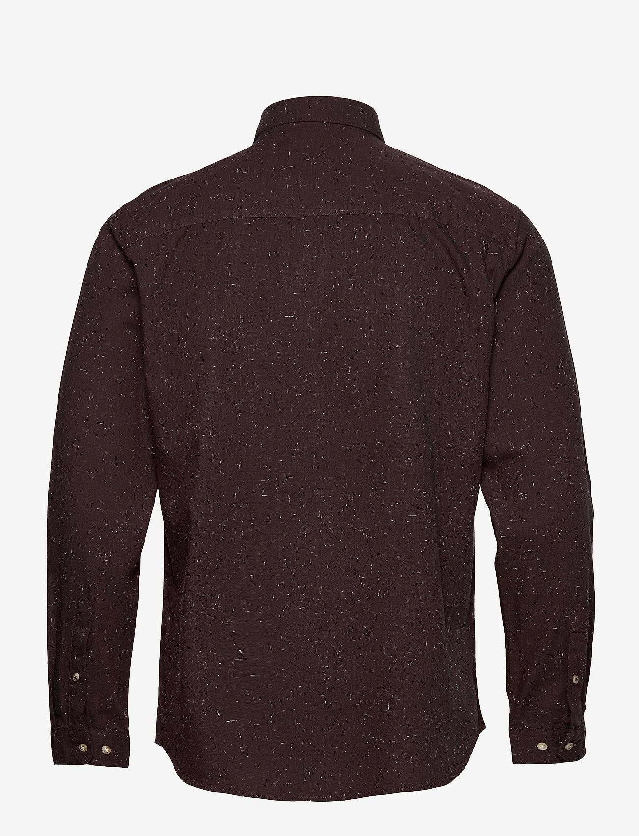Jack & Jones - JPRBLALOGO AUTUMN SHIRT L/S STS - basic skjortor - vineyard wine - 1