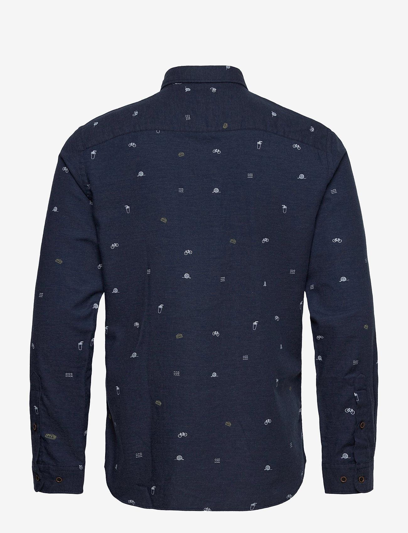 Jack & Jones - JORFUEL SHIRT LS - casual skjortor - navy blazer - 1