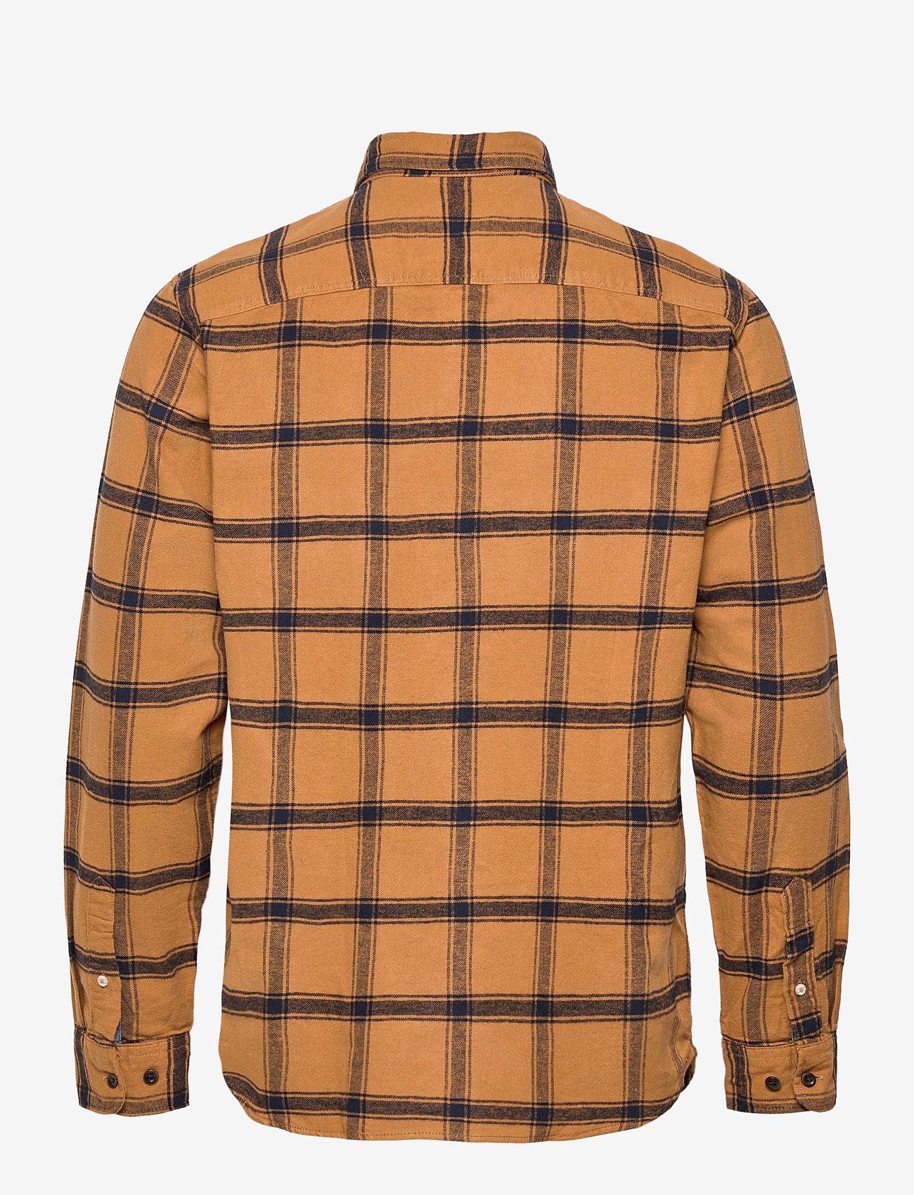 Jack & Jones - JORJAN SHIRT LS - rutiga skjortor - rubber - 1