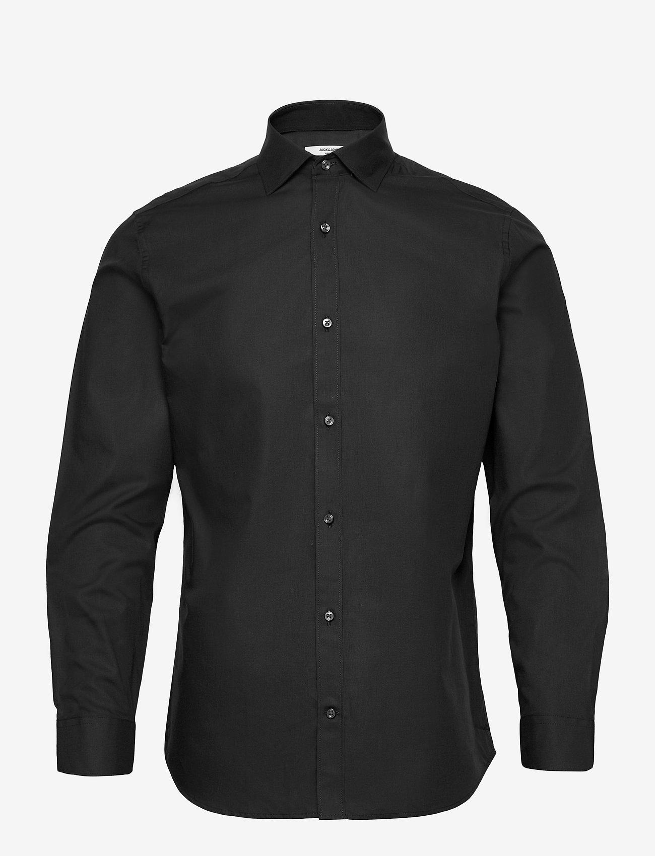 Jack & Jones - JPRBLAROYAL SHIRT L/S - basic skjortor - black - 0