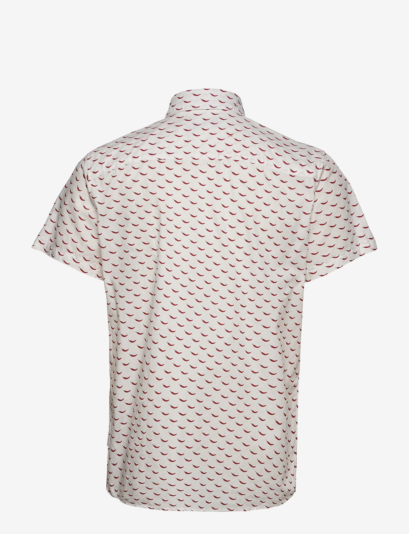 Jack & Jones - JORANDREW SS SHIRT SH - kortärmade skjortor - white - 1