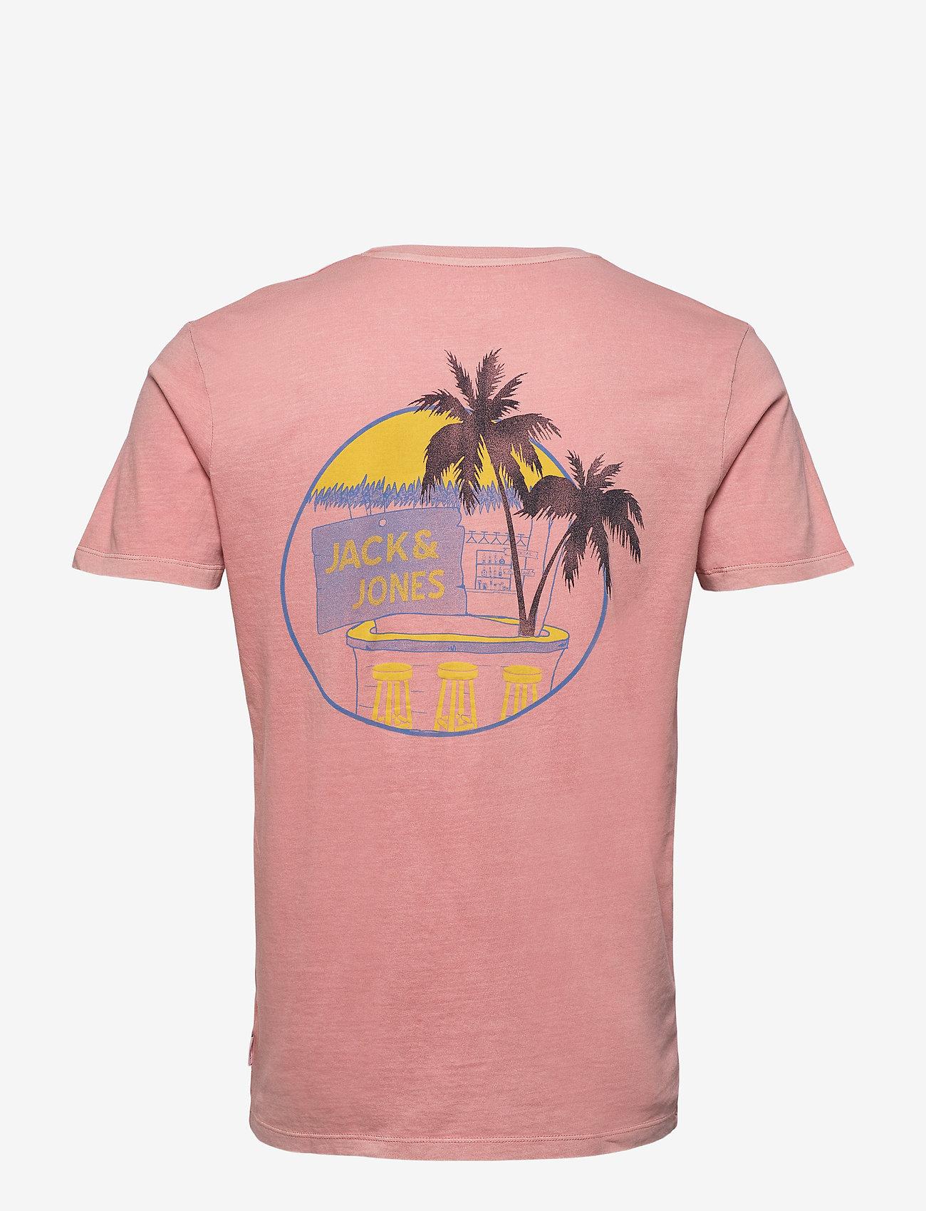 Jack & Jones - JORNEW MIKKI TEE SS SH - basic t-shirts - rosette - 1