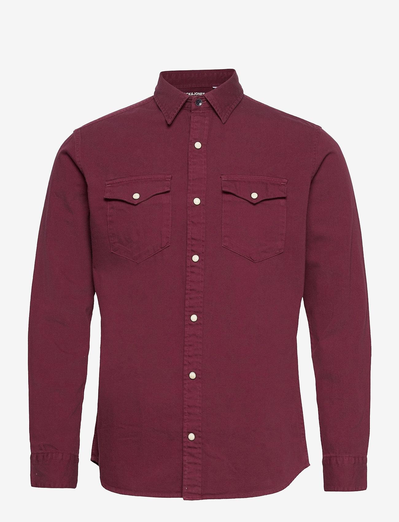 Jack & Jones - JORLUCKY SHIRT LS - basic skjortor - fig - 0