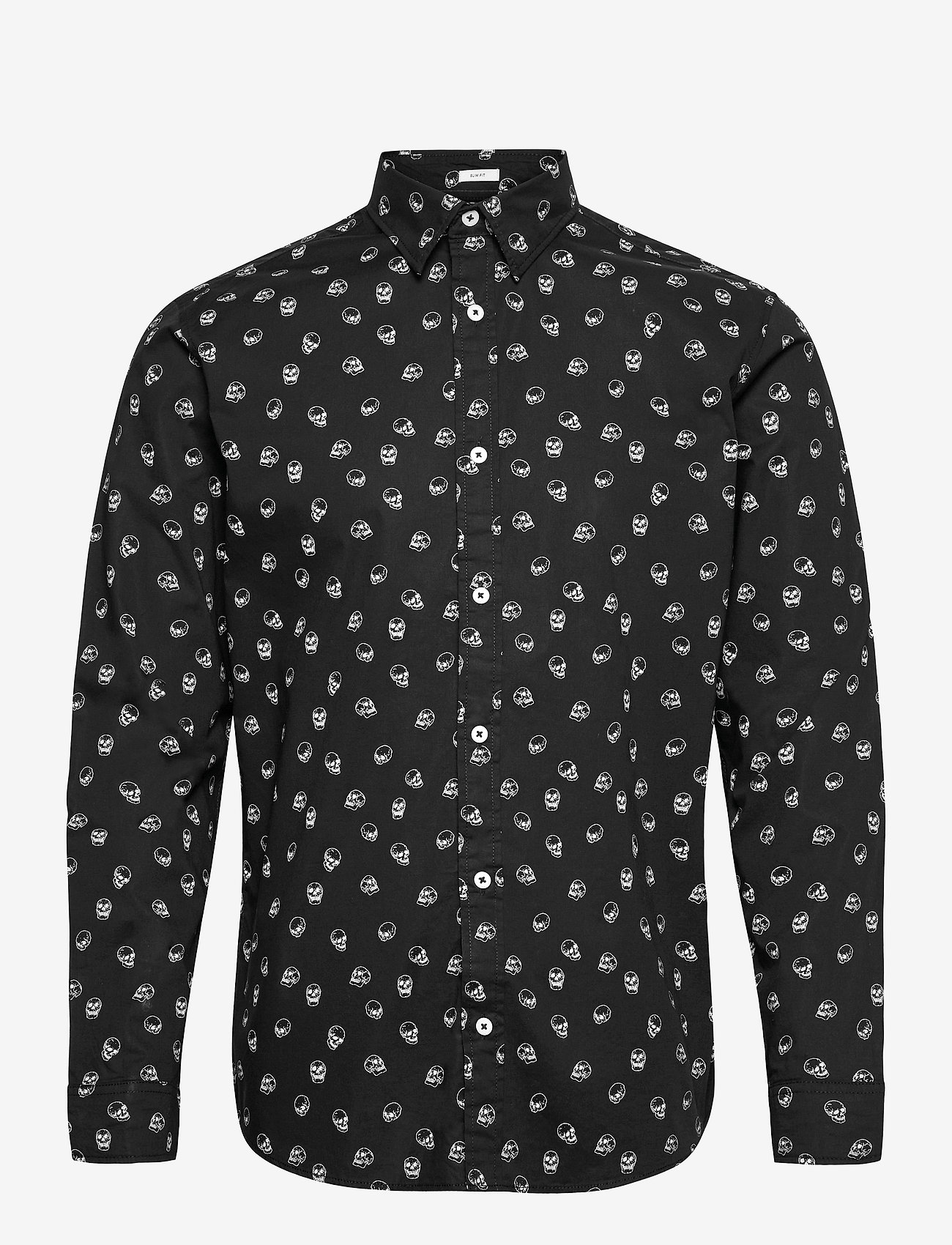 Jack & Jones - JORSCOTT SHIRT LS - casual skjortor - black - 0
