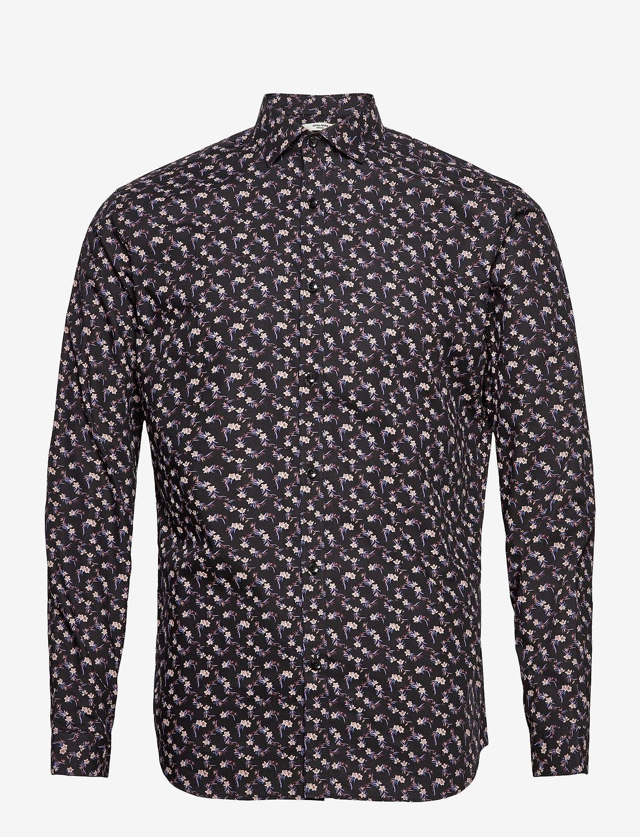 Jack & Jones - JPRBLABLACKBURN SHIRT L/S W20 - casual skjortor - black - 0