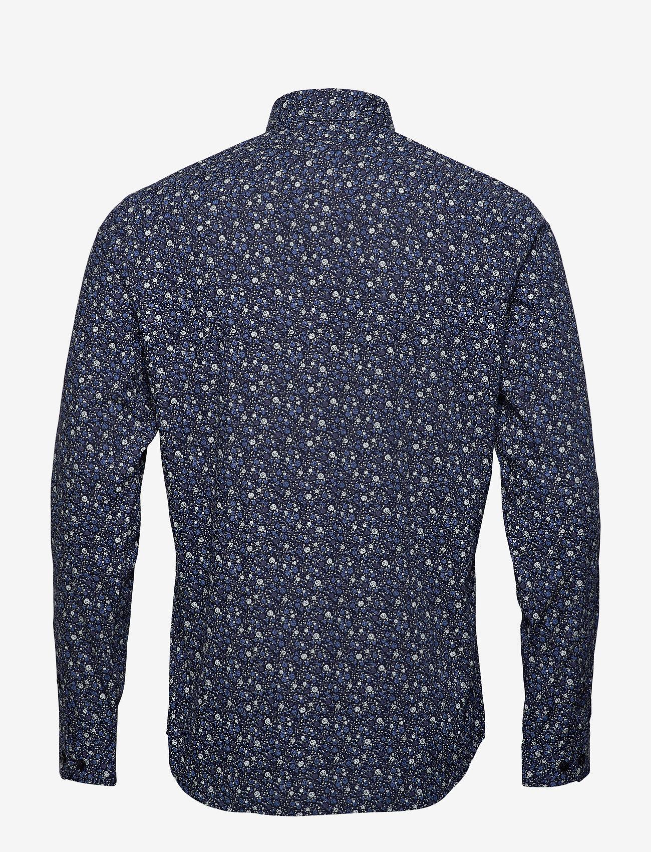 Jack & Jones - JPRBLABLACKBURN SHIRT L/S W20 - casual skjortor - dark navy - 1