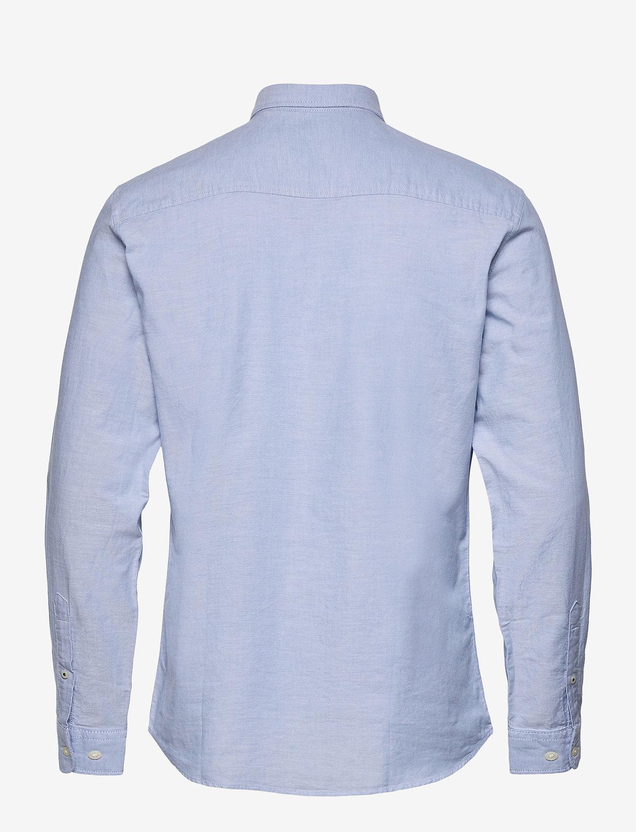 Jack & Jones - JJEOXFORD SHIRT L/S S21 - casual skjortor - cashmere blue - 1