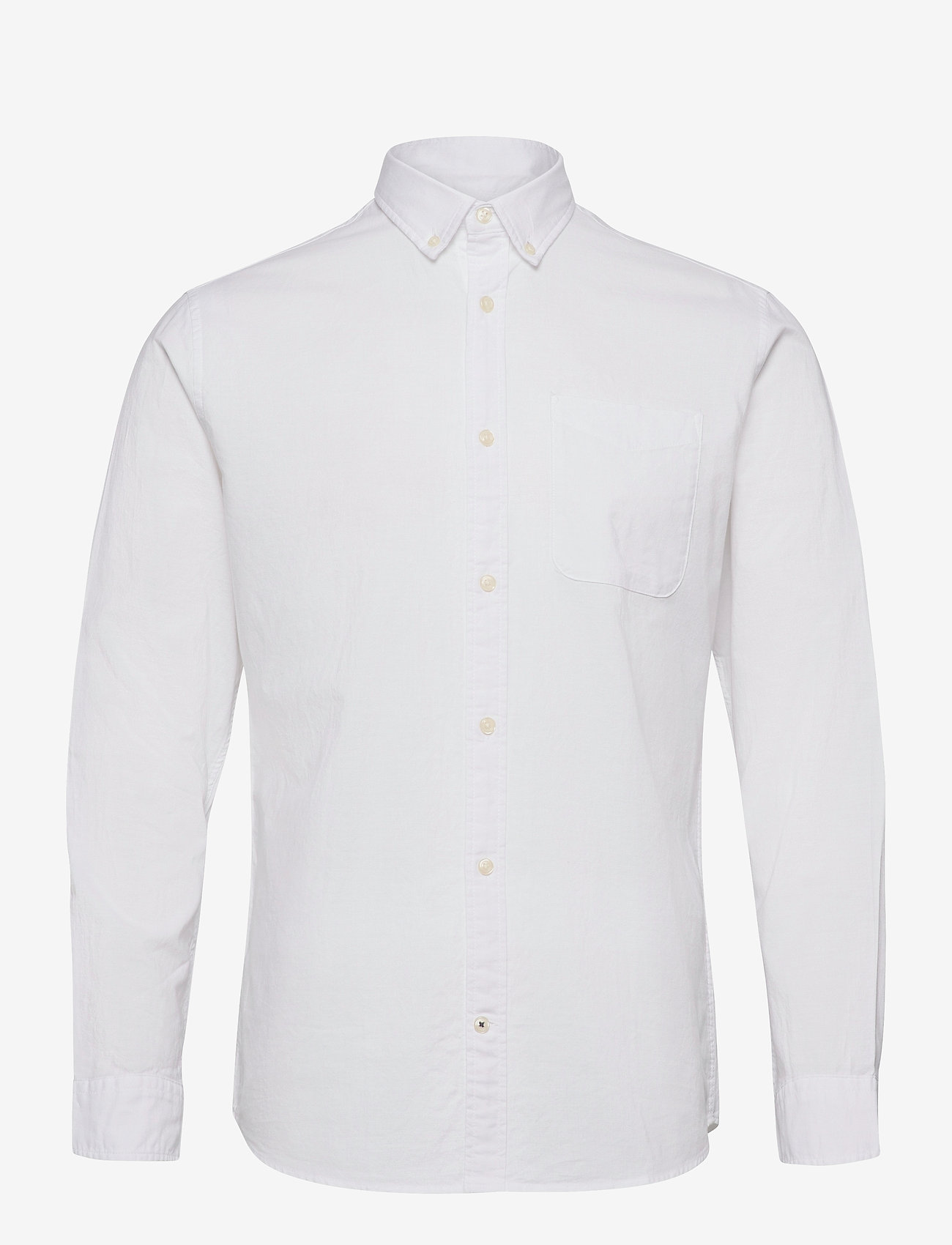 Jack & Jones - JJEOXFORD SHIRT L/S S21 - casual skjortor - white - 0