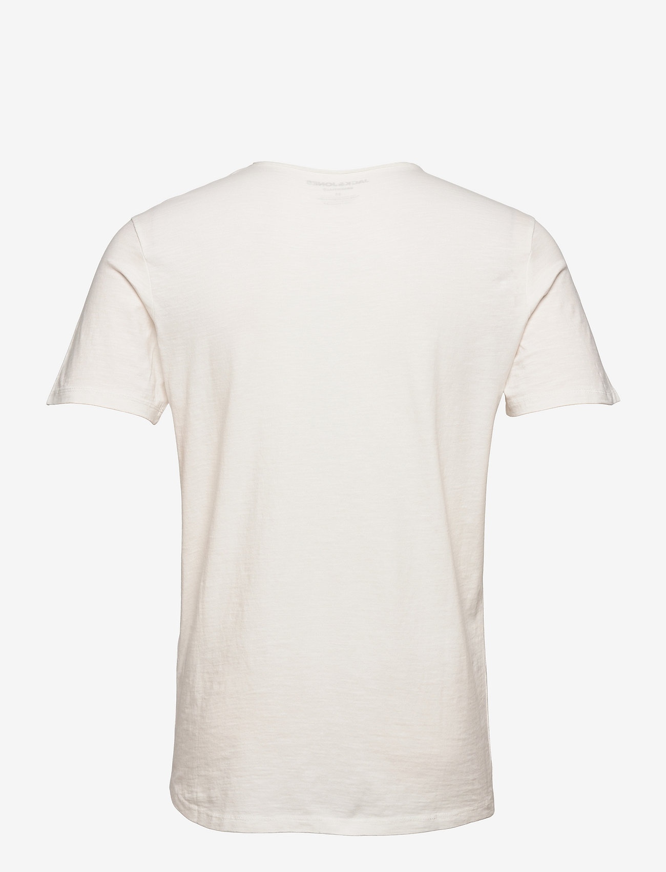 Jack & Jones - JJEBASHER TEE O-NECK SS - basic t-shirts - cloud dancer - 1