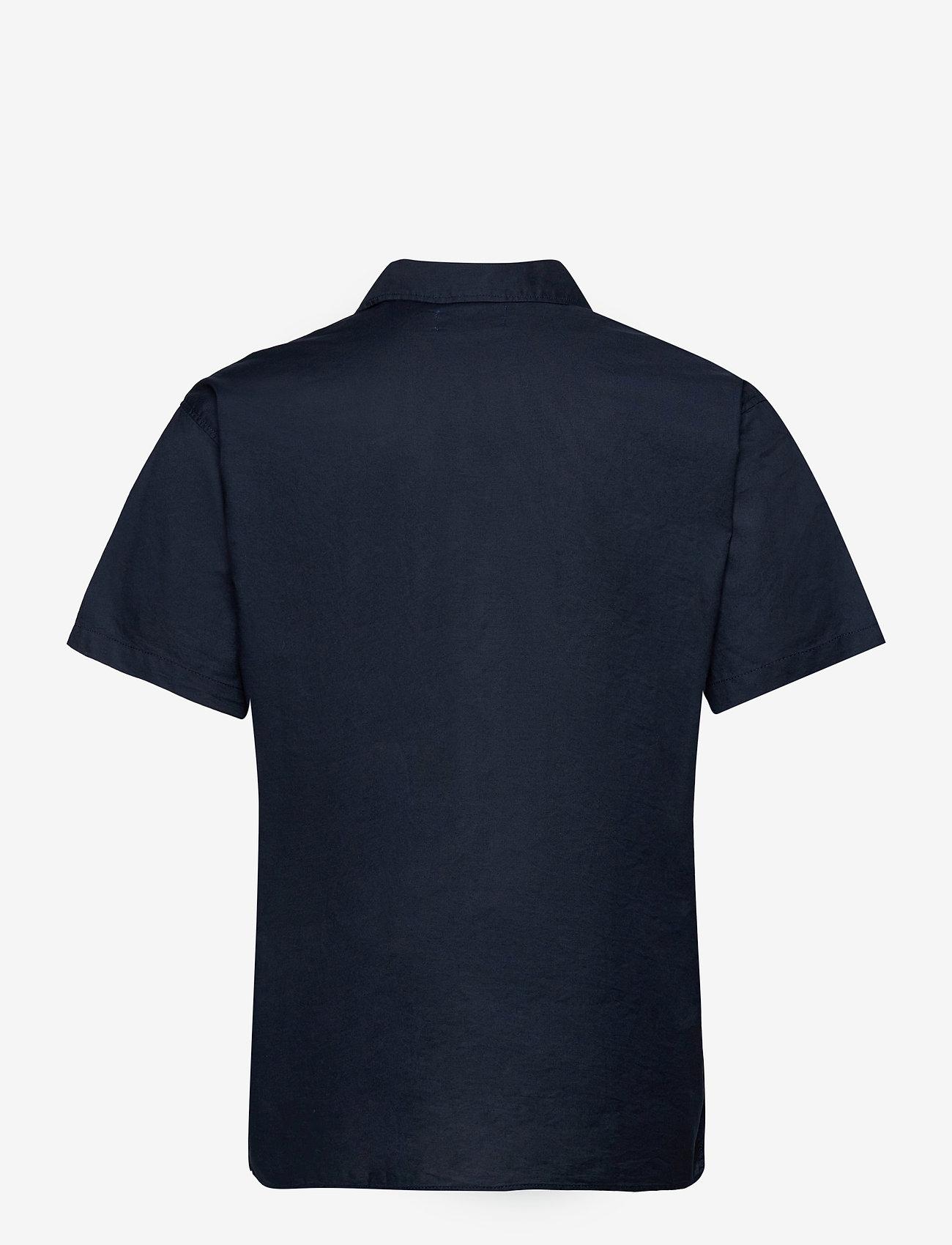 Jack & Jones - JORTOWER SHIRT SS - basic skjortor - navy blazer - 1