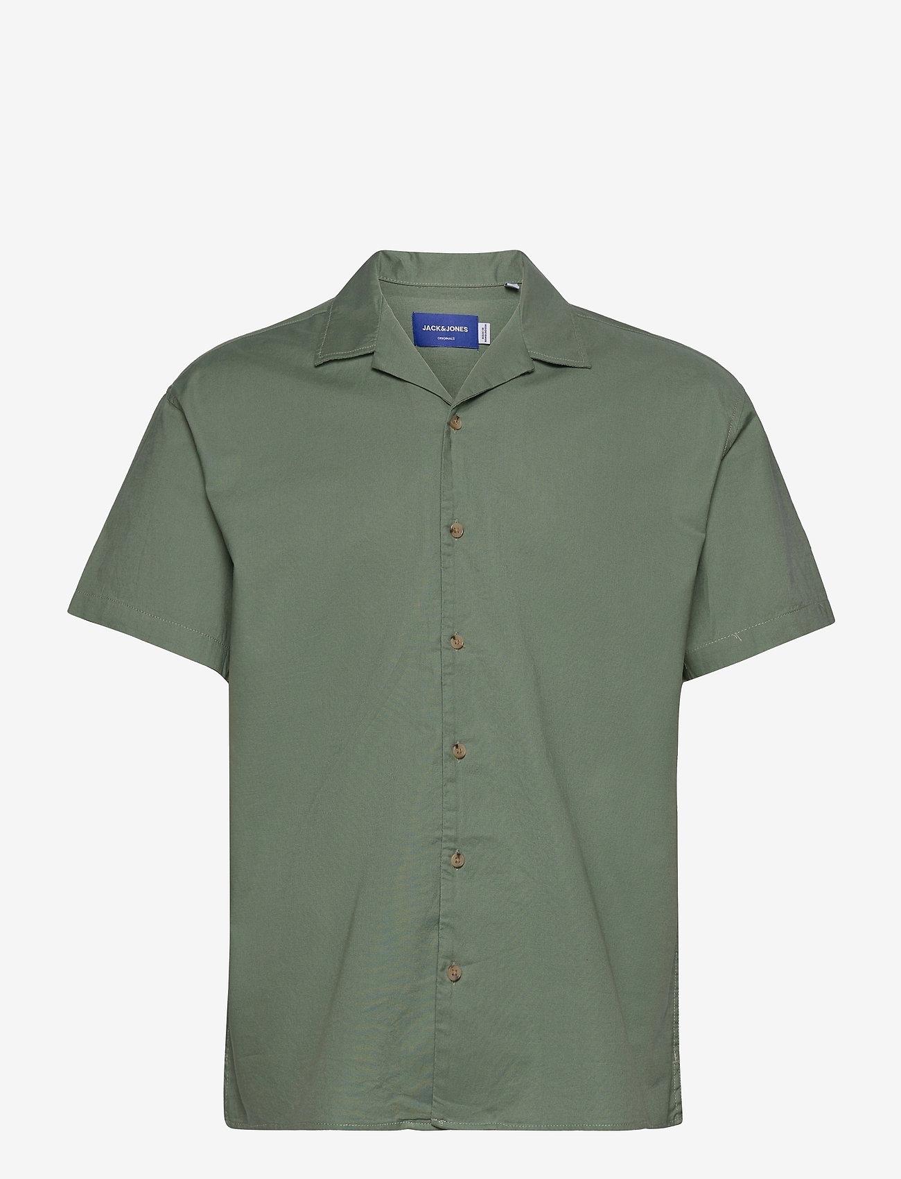 Jack & Jones - JORTOWER SHIRT SS - basic skjortor - sea spray - 0