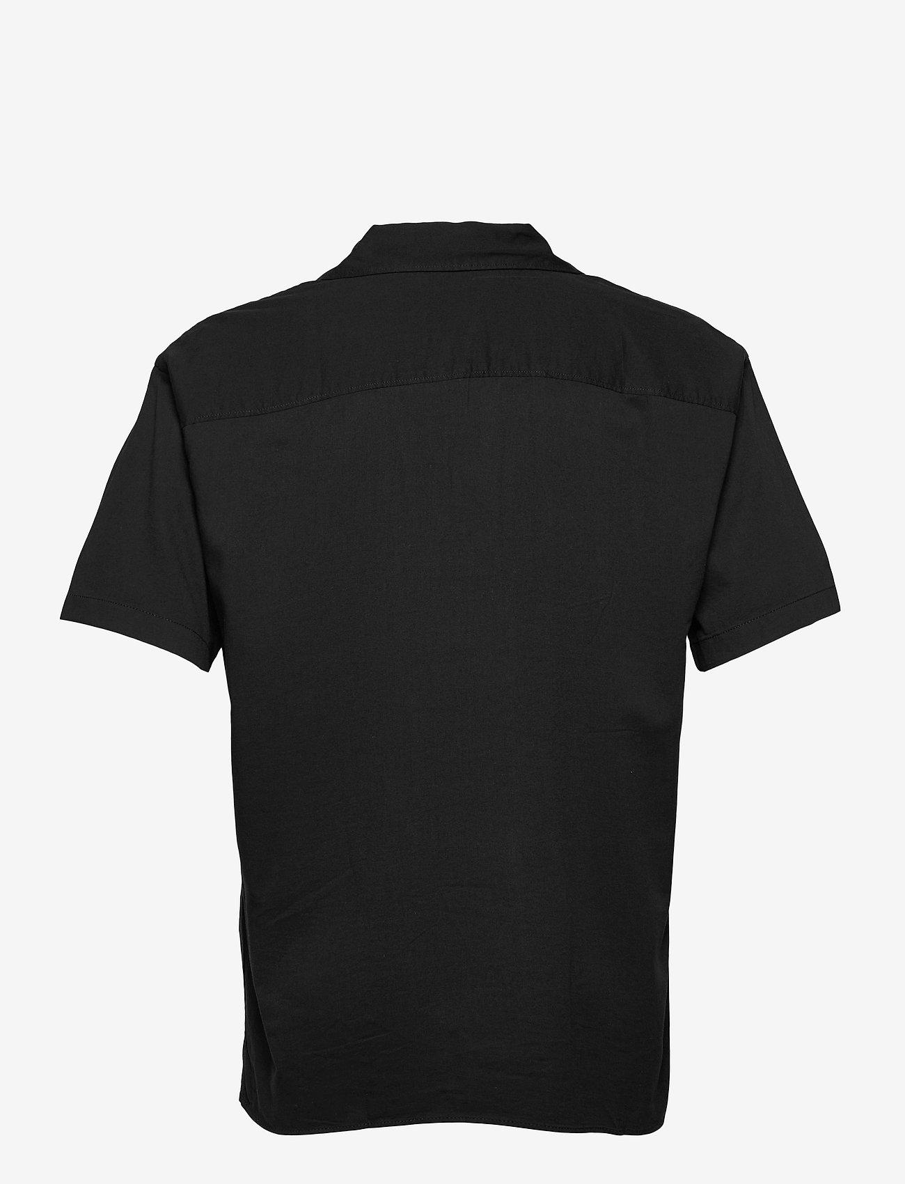 Jack & Jones - JORALEC SHIRT SS BLK - basic skjortor - tap shoe - 1