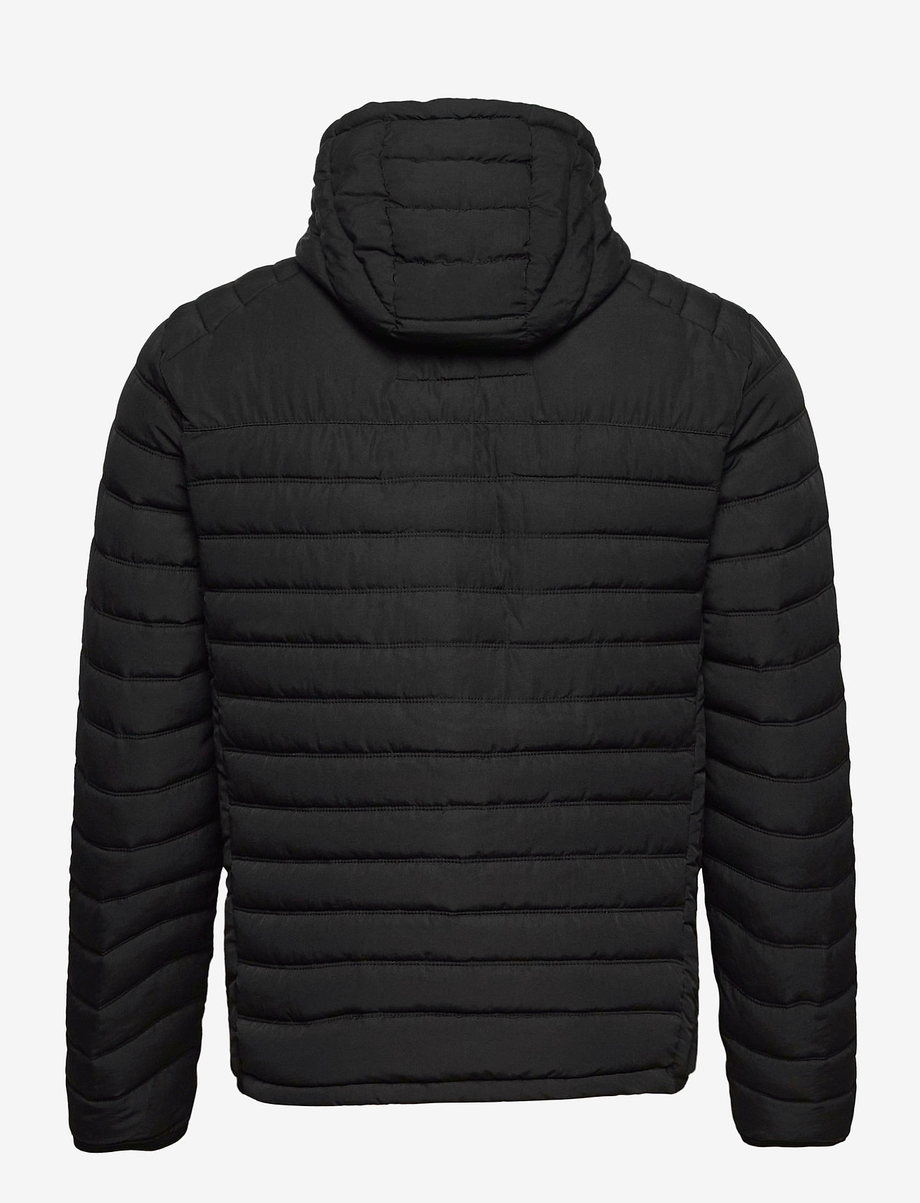 Jack & Jones - JJBASE LIGHT HOOD JACKET - fôrede jakker - black - 1