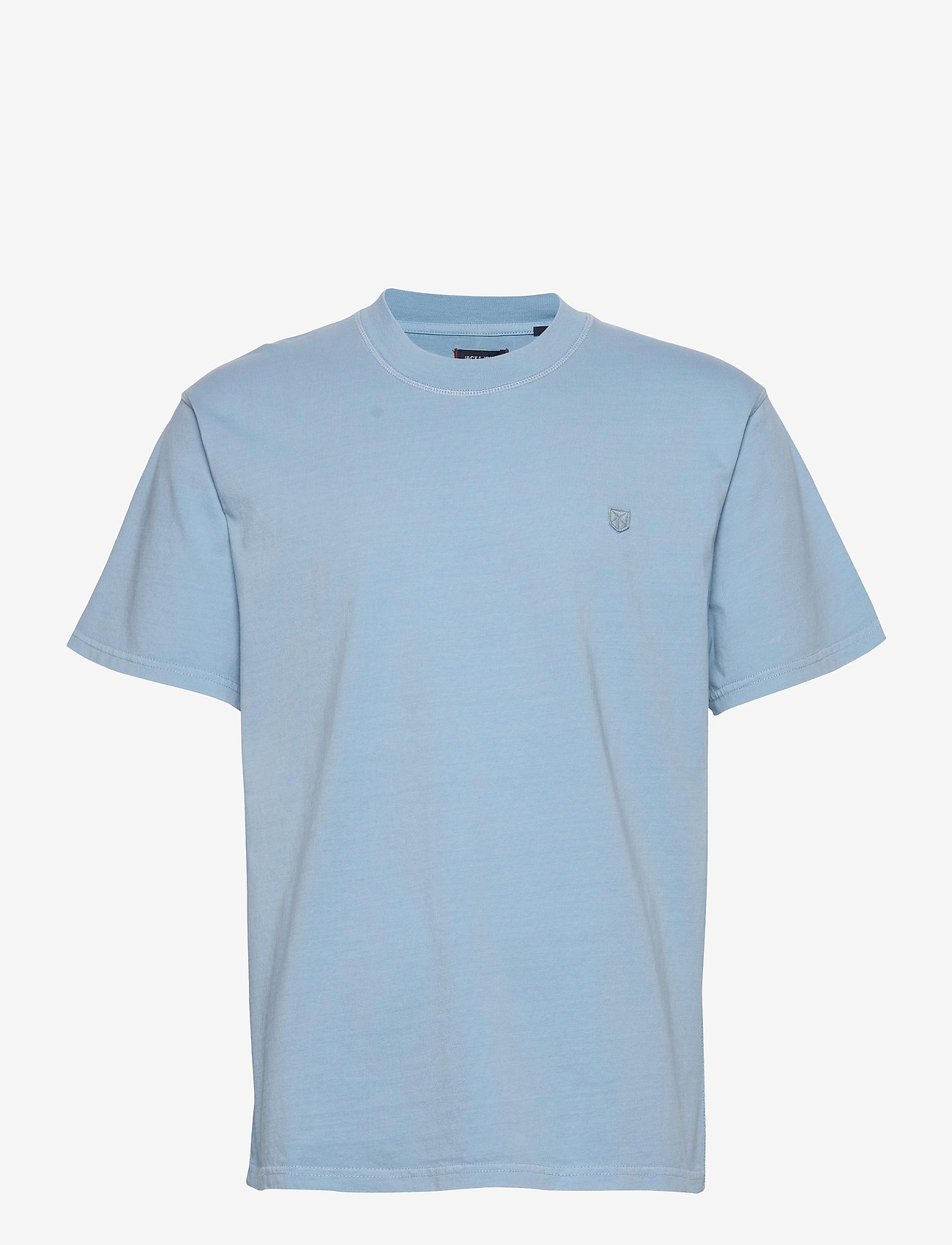 Jack & Jones - JPRBLUJULIO TEE SS CREW NECK - basic t-shirts - dusk blue - 0